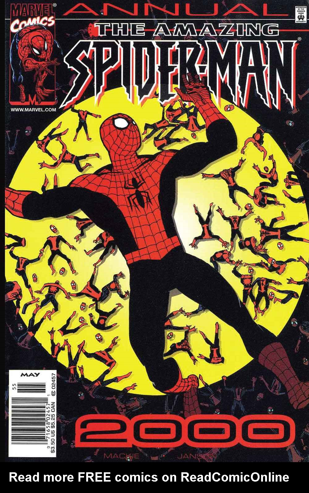 The Amazing Spider-Man (1999) _Annual_2 Page 0