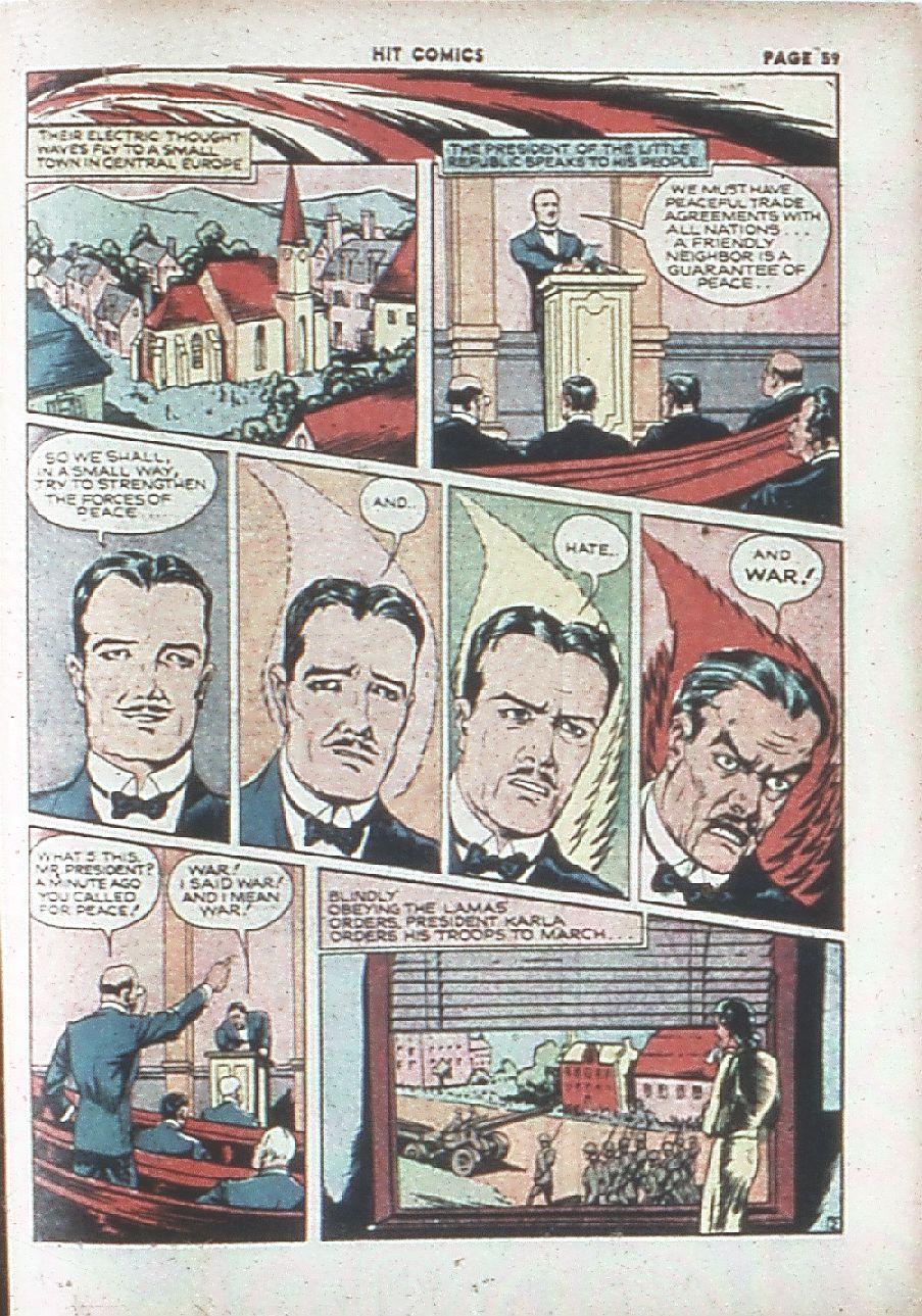 Read online Hit Comics comic -  Issue #7 - 61