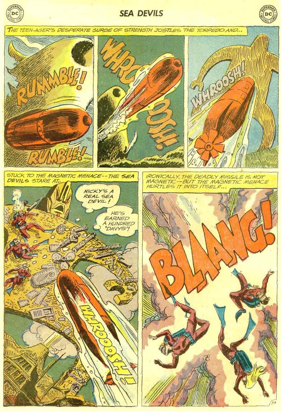 Read online Sea Devils comic -  Issue #12 - 31