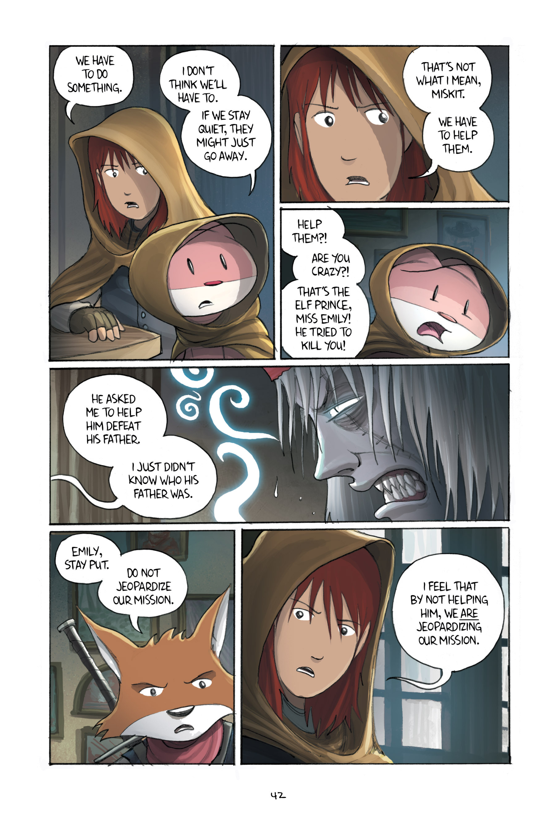 Read online Amulet comic -  Issue #3 - 41