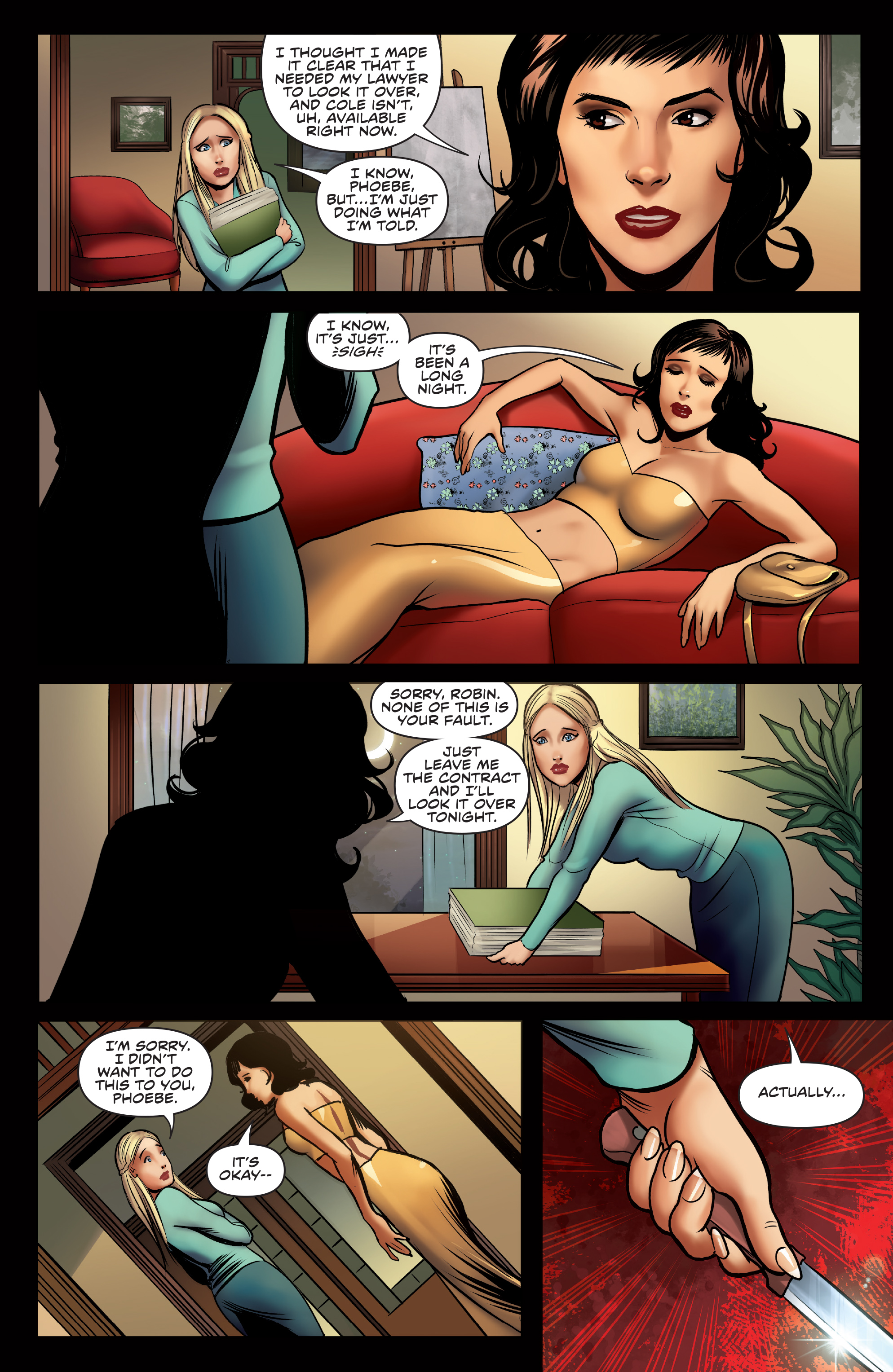 Read online Charmed (2017) comic -  Issue #3 - 11