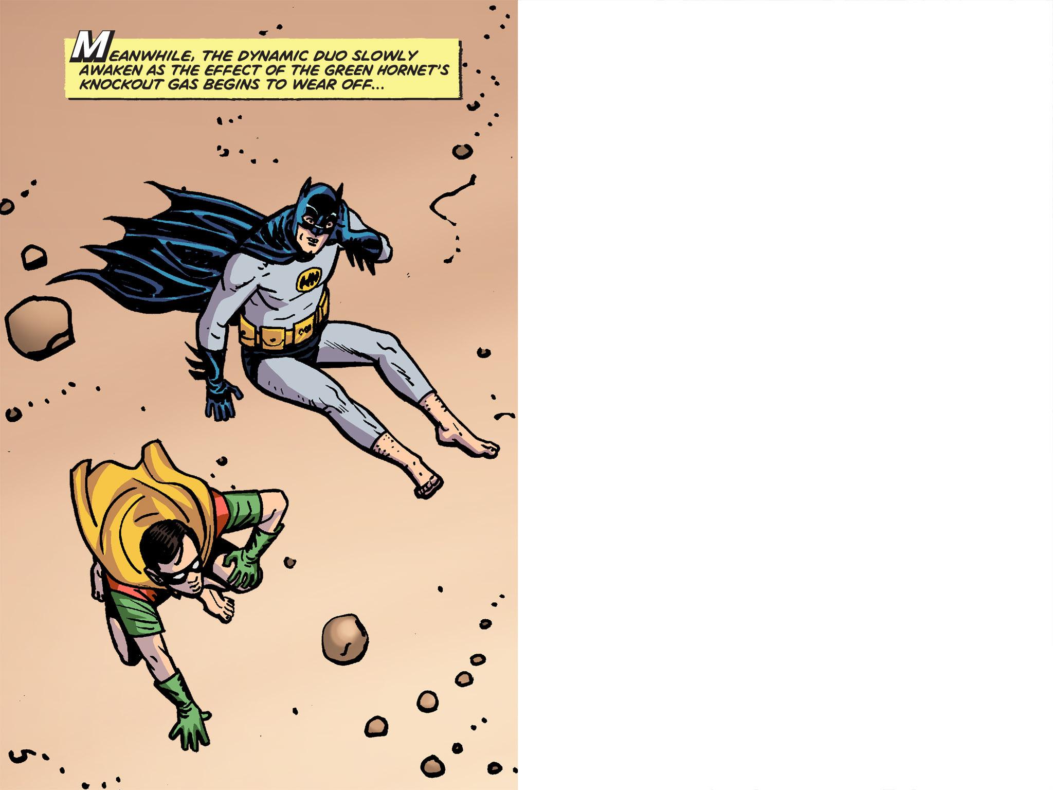 Read online Batman '66 Meets the Green Hornet [II] comic -  Issue #4 - 28