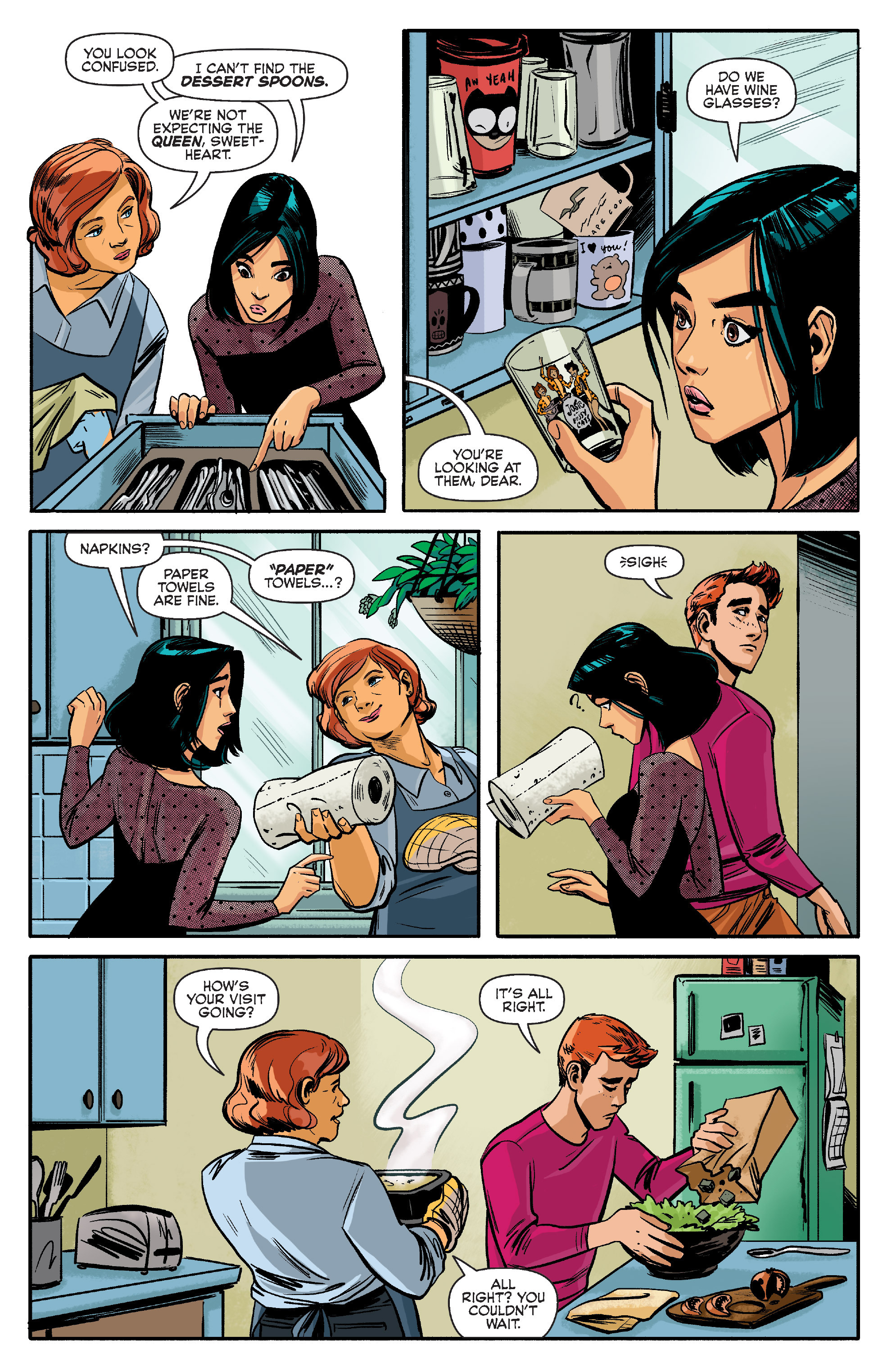 Read online Archie (2015) comic -  Issue #9 - 6