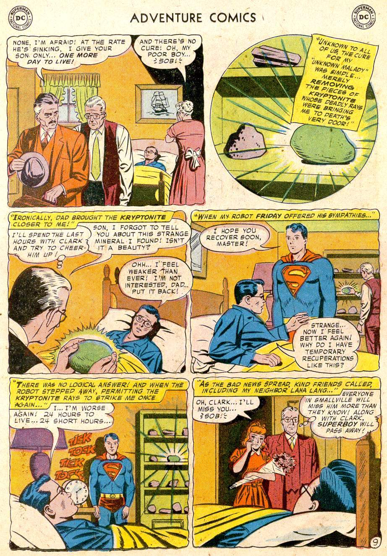 Read online Adventure Comics (1938) comic -  Issue #251 - 11
