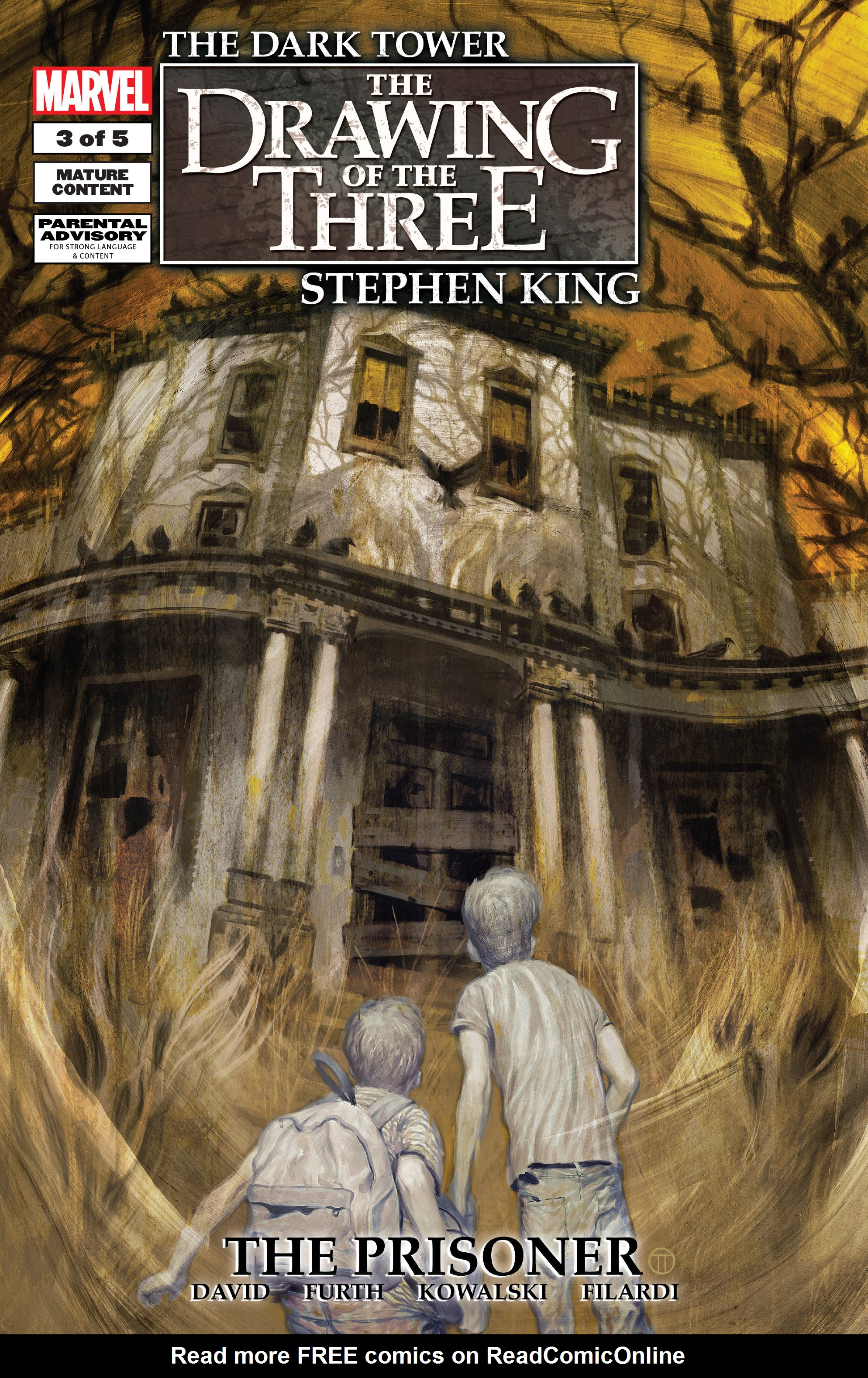 Read online Dark Tower: The Drawing of the Three - The Prisoner comic -  Issue #3 - 1