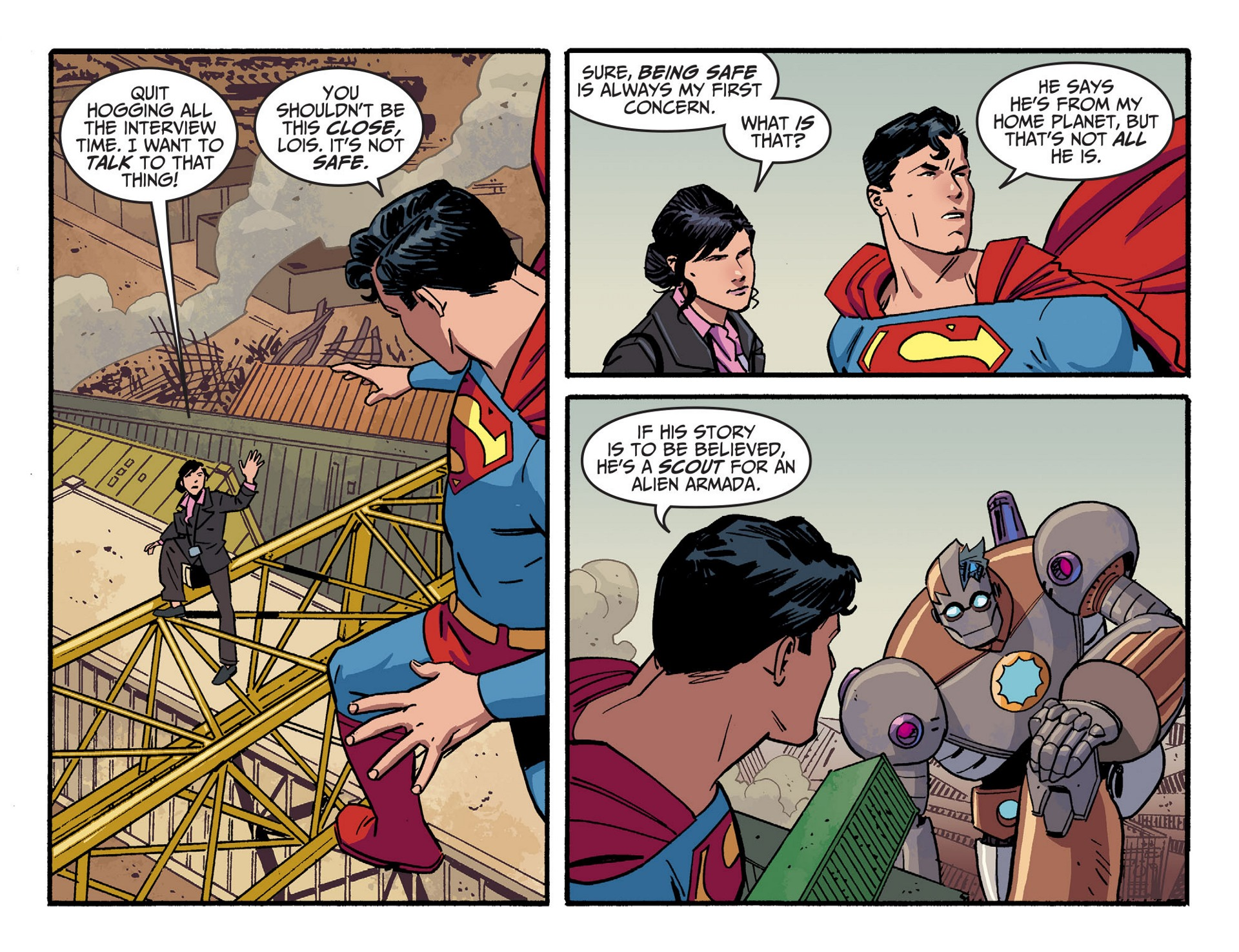 Read online Adventures of Superman [I] comic -  Issue #44 - 19