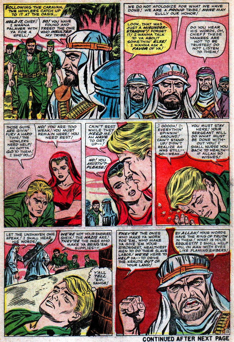 Read online Sgt. Fury comic -  Issue #16 - 18