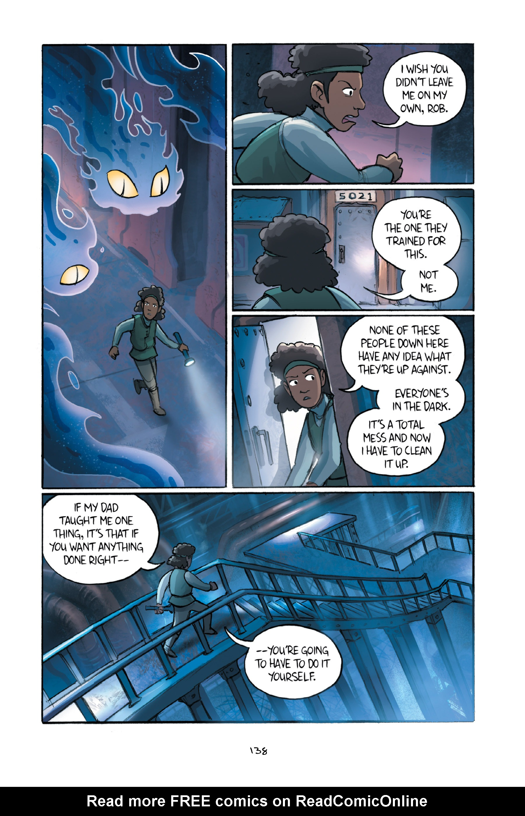 Read online Amulet comic -  Issue #6 - 139