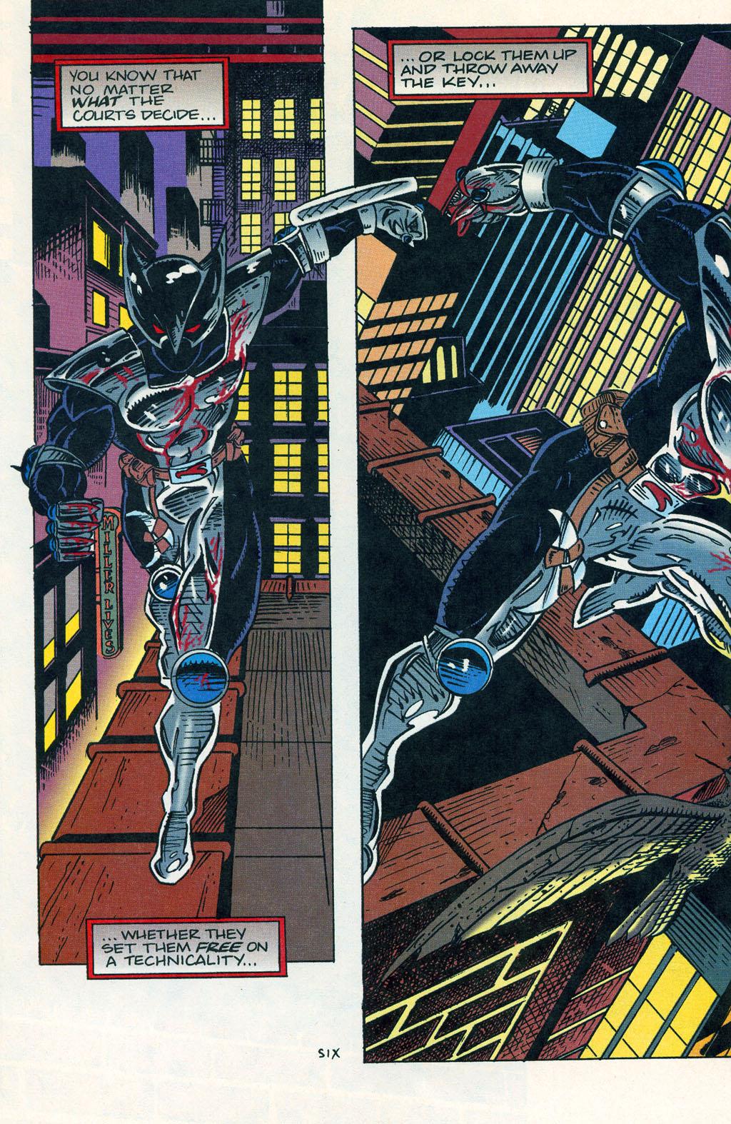Read online ShadowHawk comic -  Issue #1 - 9