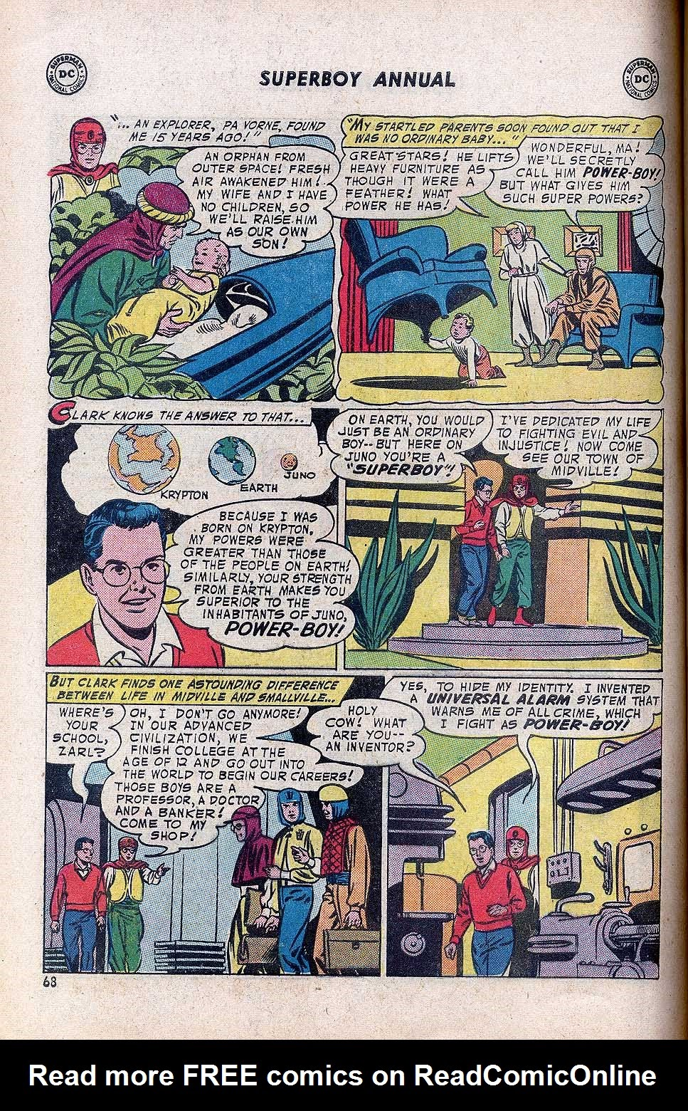 Superboy (1949) issue Annual 1 - Page 70