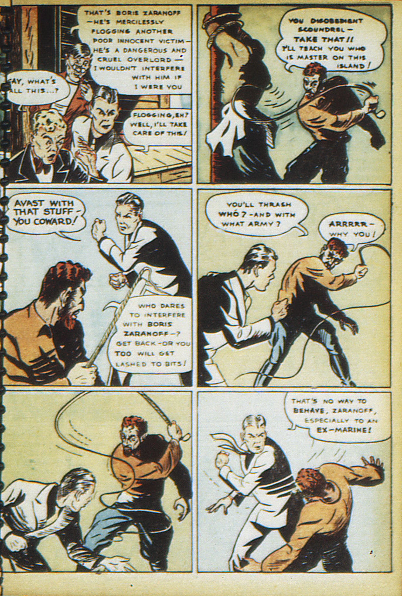 Read online Adventure Comics (1938) comic -  Issue #16 - 62