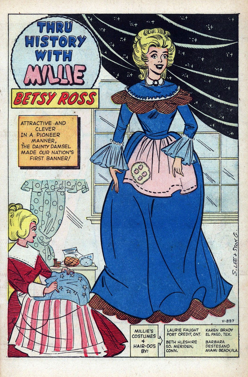 Read online Millie the Model comic -  Issue # Annual 1 - 27