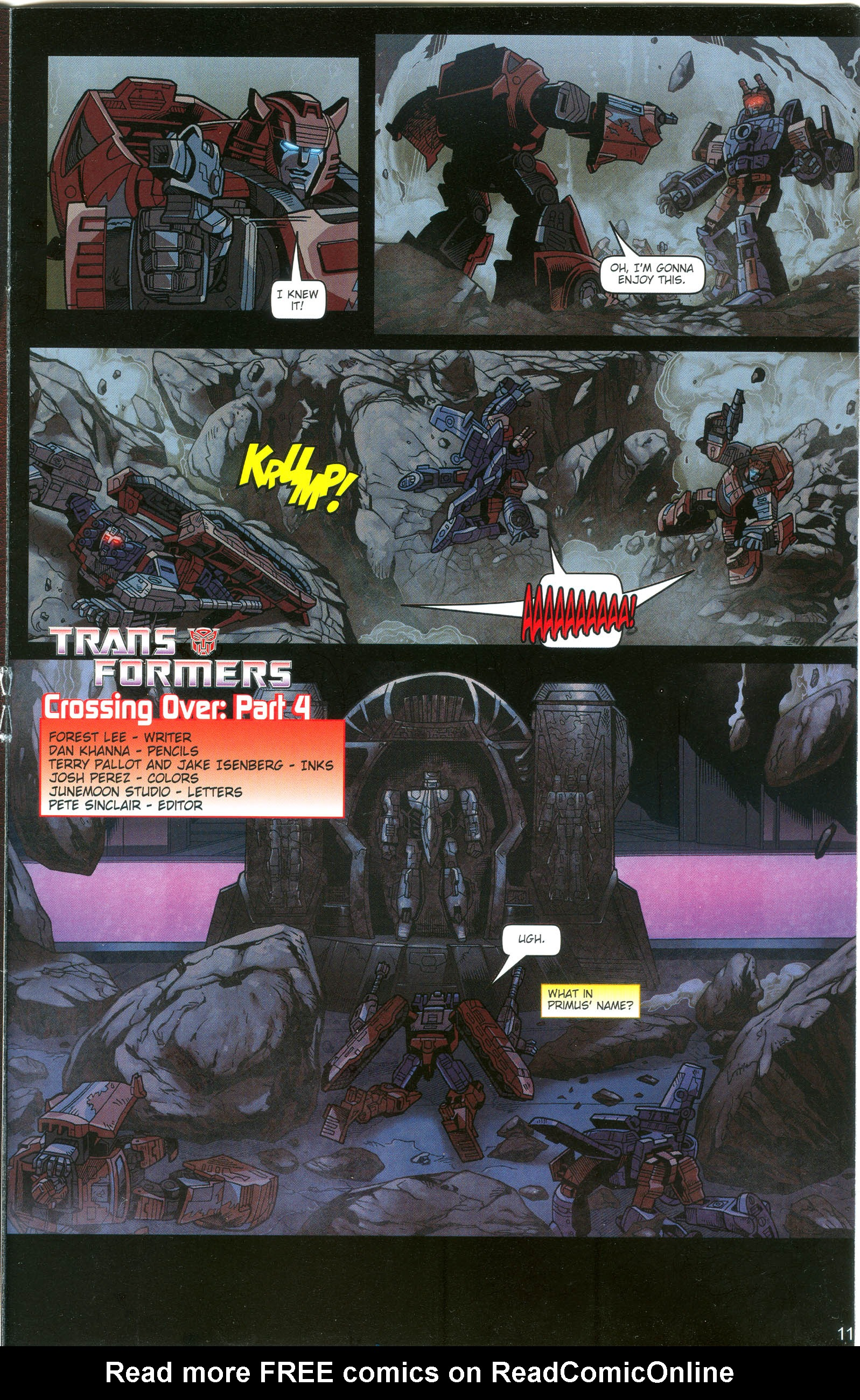Read online Transformers: Collectors' Club comic -  Issue #16 - 11