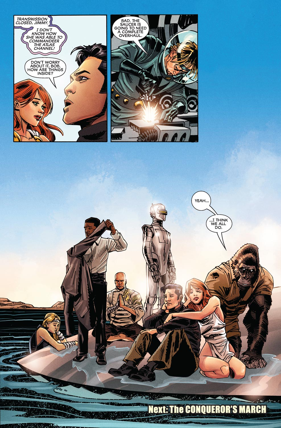 Read online Agents Of Atlas (2009) comic -  Issue #9 - 24