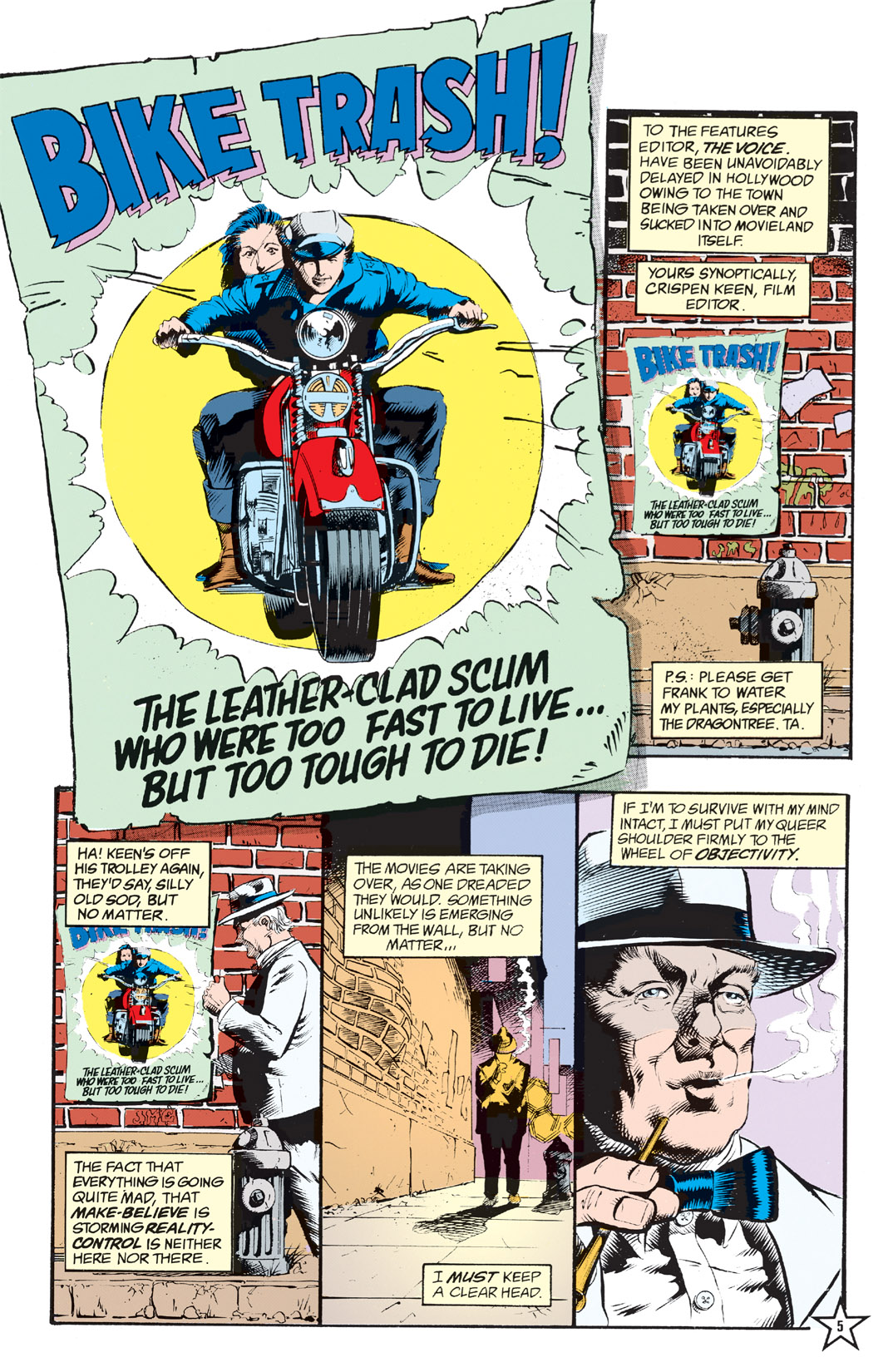 Read online Shade, the Changing Man comic -  Issue #6 - 7