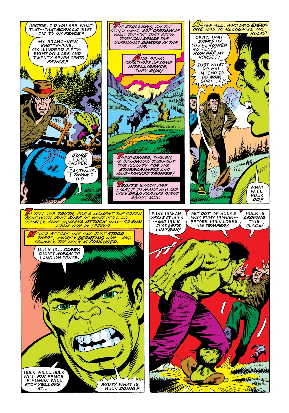 Read online Marvel Masterworks: The Incredible Hulk comic -  Issue # TPB 10 (Part 2) - 87