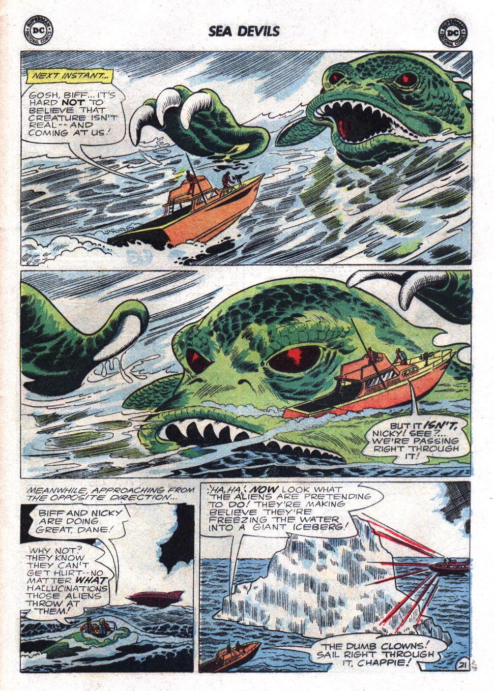 Read online Sea Devils comic -  Issue #17 - 29