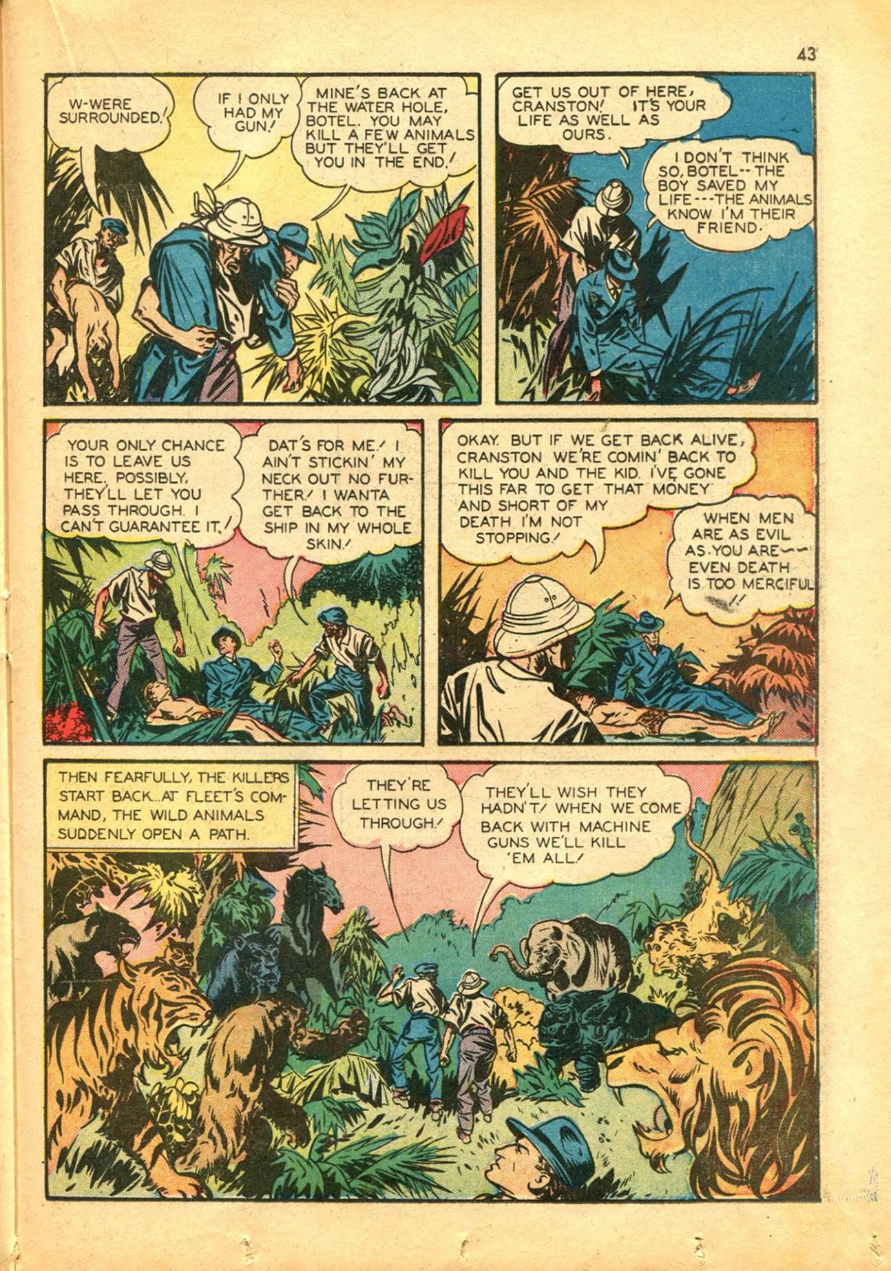 Read online Shadow Comics comic -  Issue #30 - 43