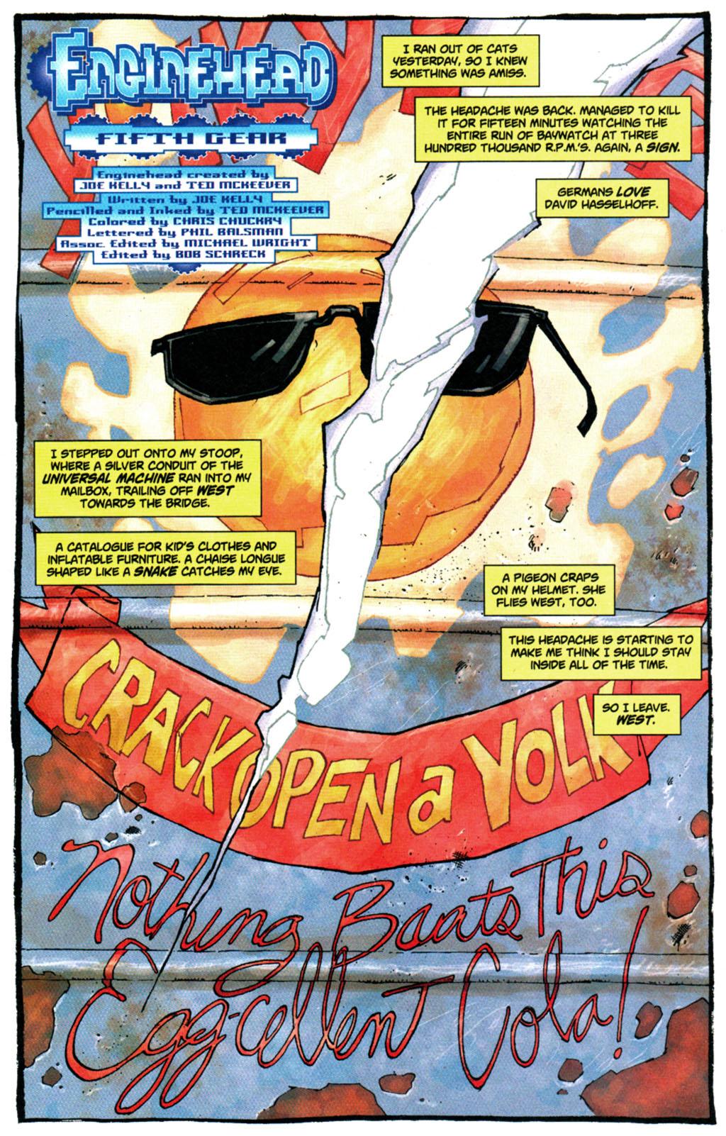 Read online Enginehead comic -  Issue #5 - 2