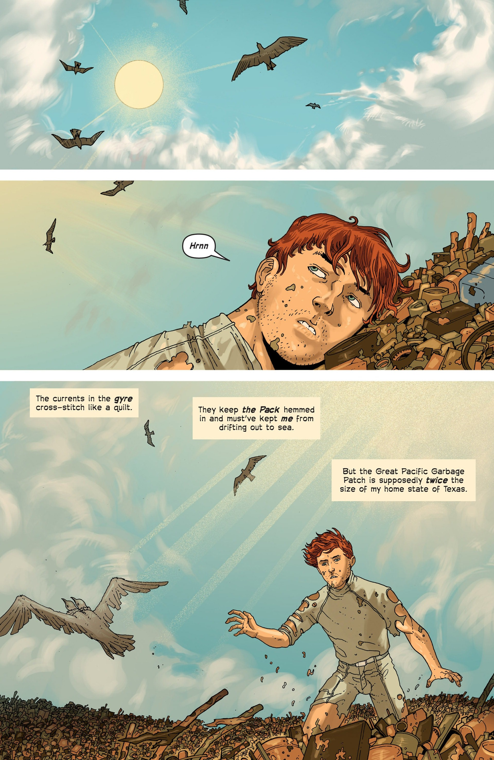 Read online Great Pacific comic -  Issue #3 - 5