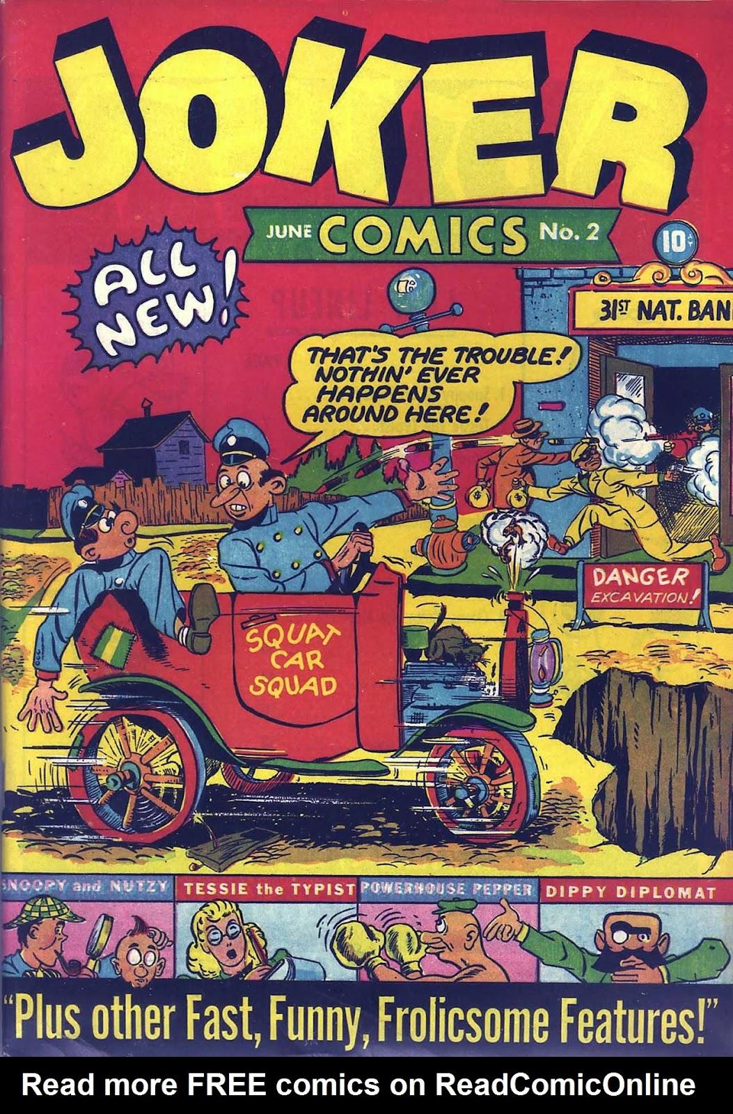 Read online Joker Comics comic -  Issue #2 - 1