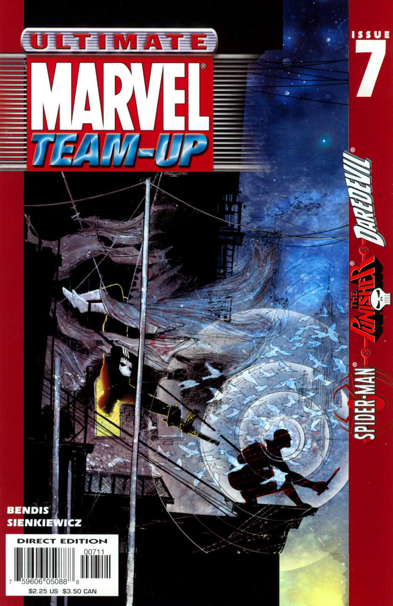 Read online Ultimate Marvel Team-Up comic -  Issue #7 - 1