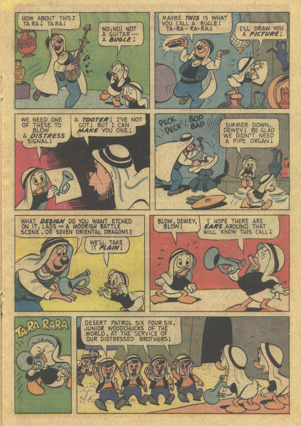 Read online Uncle Scrooge (1953) comic -  Issue #121 - 17