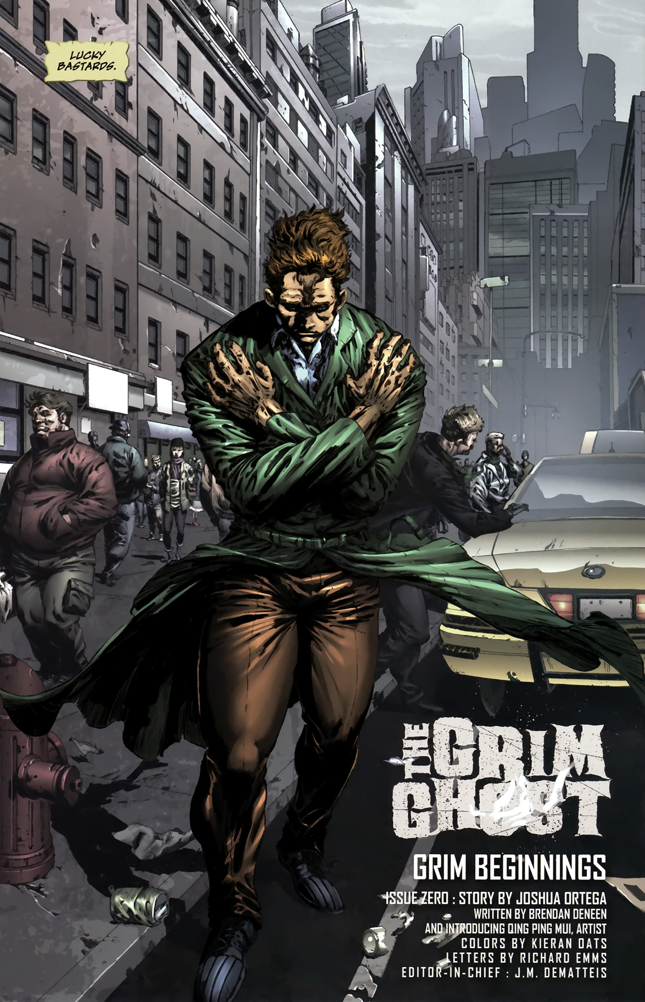 Read online The Grim Ghost comic -  Issue #0 - 5