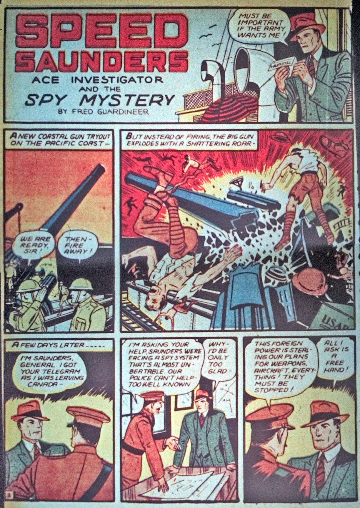 Read online Detective Comics (1937) comic -  Issue #34 - 36