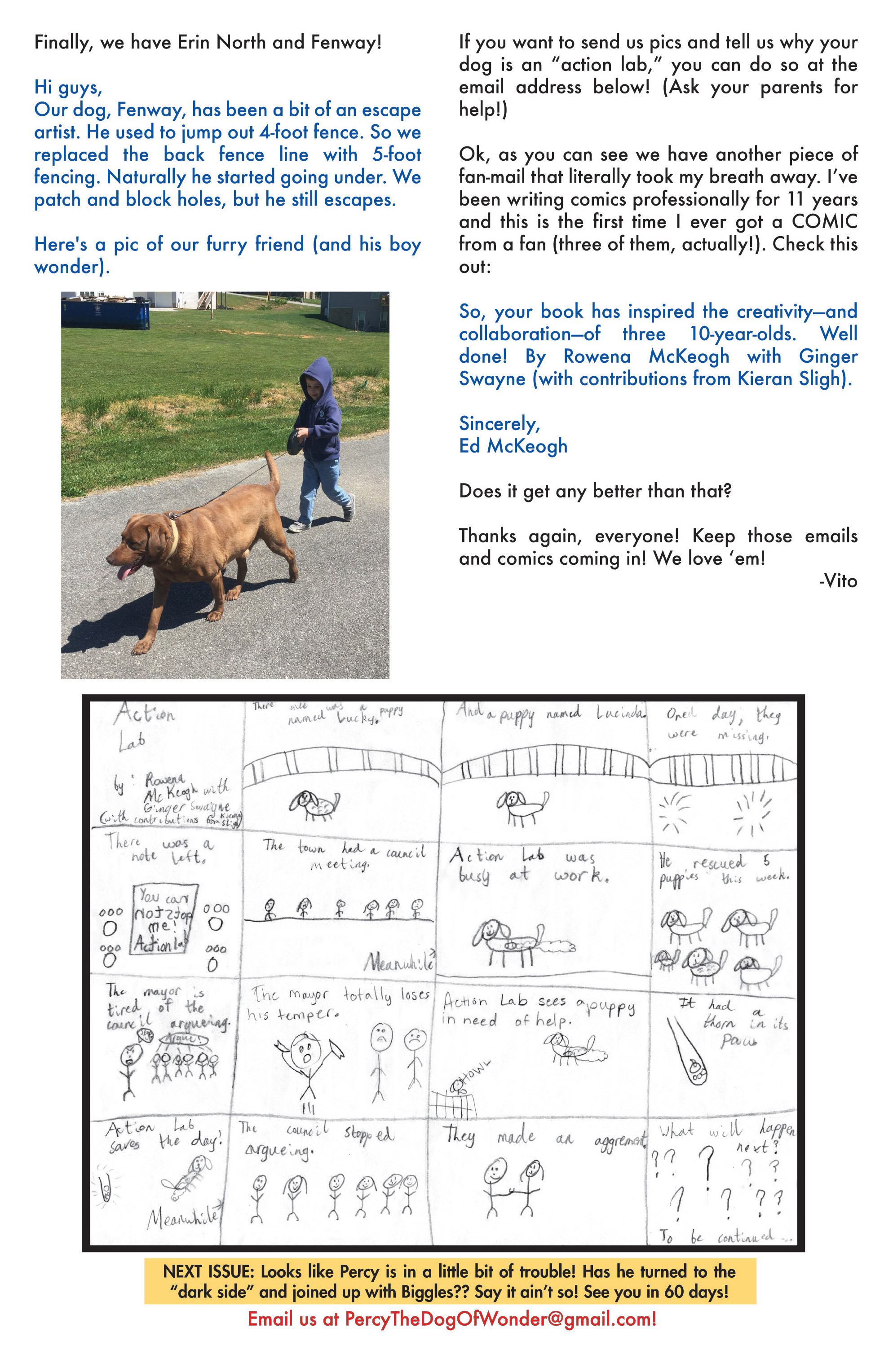 Read online Action Lab, Dog of Wonder comic -  Issue #4 - 25