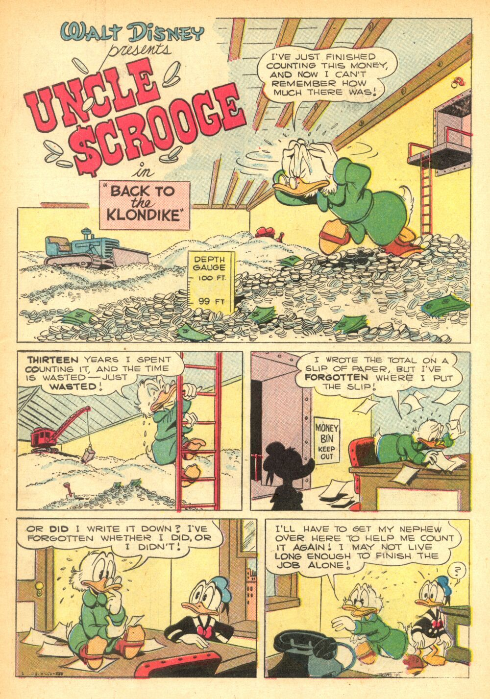 Read online Uncle Scrooge (1953) comic -  Issue #2 - 3