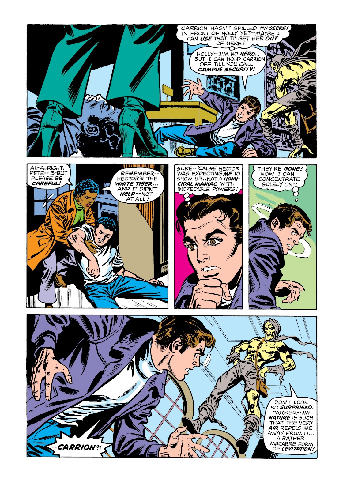 Read online Marvel Masterworks: The Spectacular Spider-Man comic -  Issue # TPB 2 (Part 3) - 48