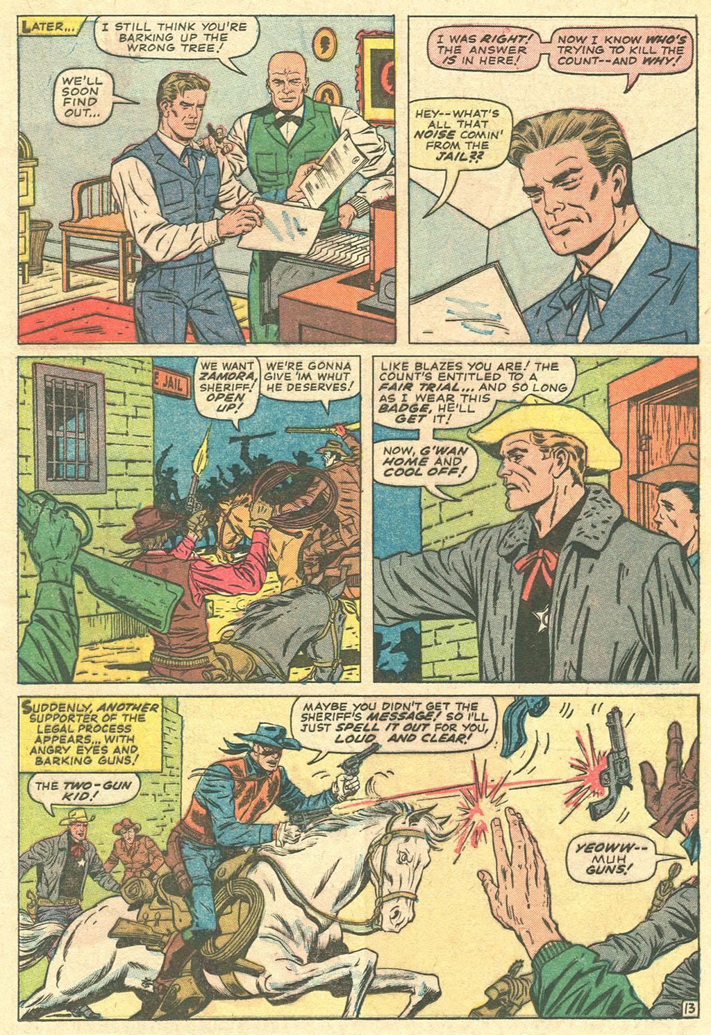 Read online Two-Gun Kid comic -  Issue #81 - 17