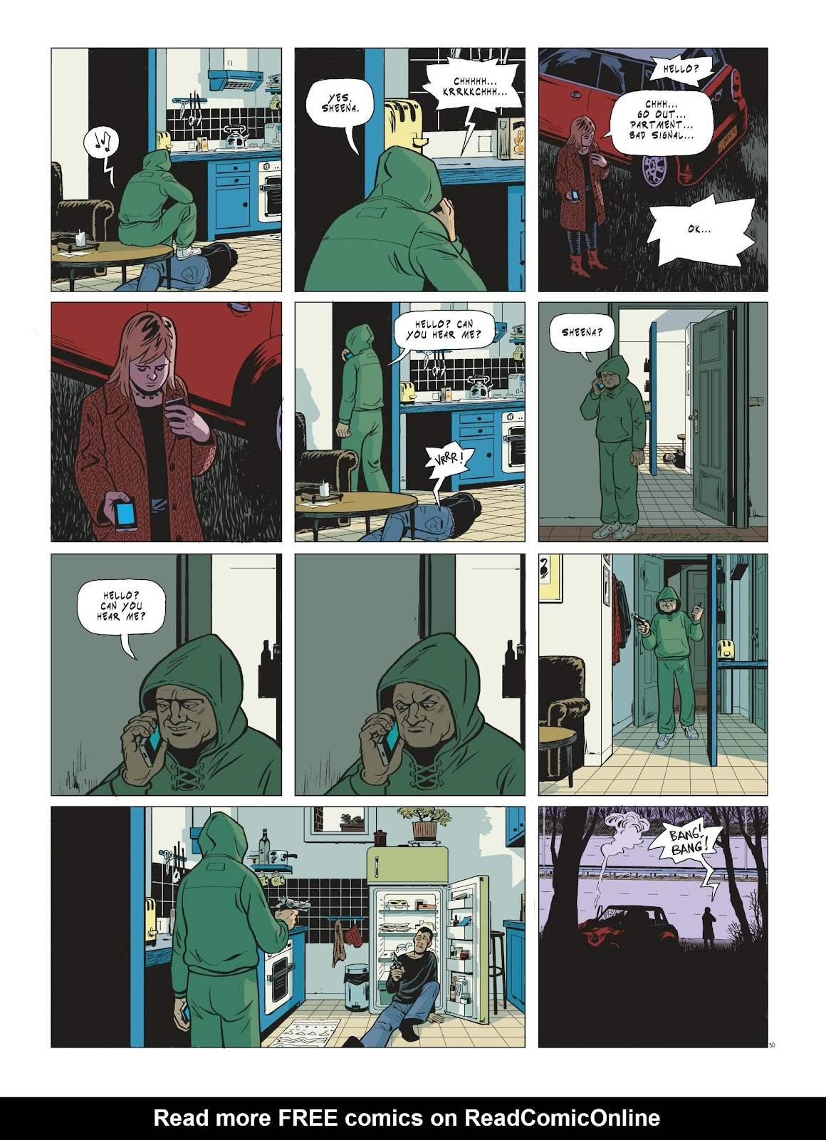 Read online Maggy Garrisson comic -  Issue #3 - 32