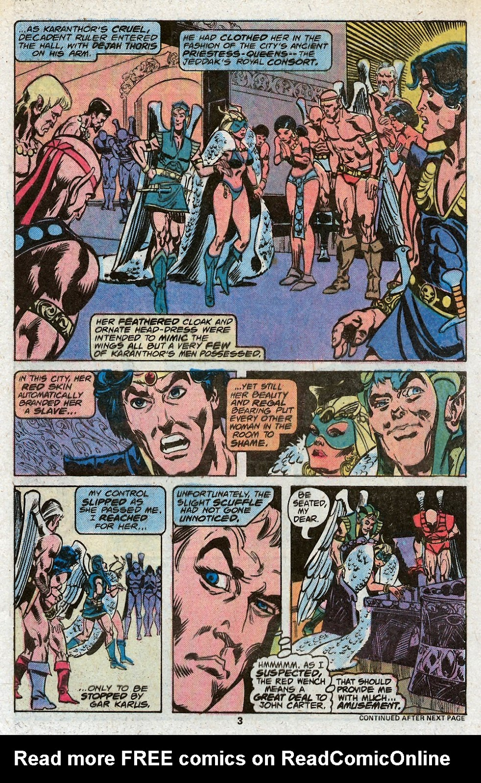 John Carter Warlord of Mars issue 19 - Page 5