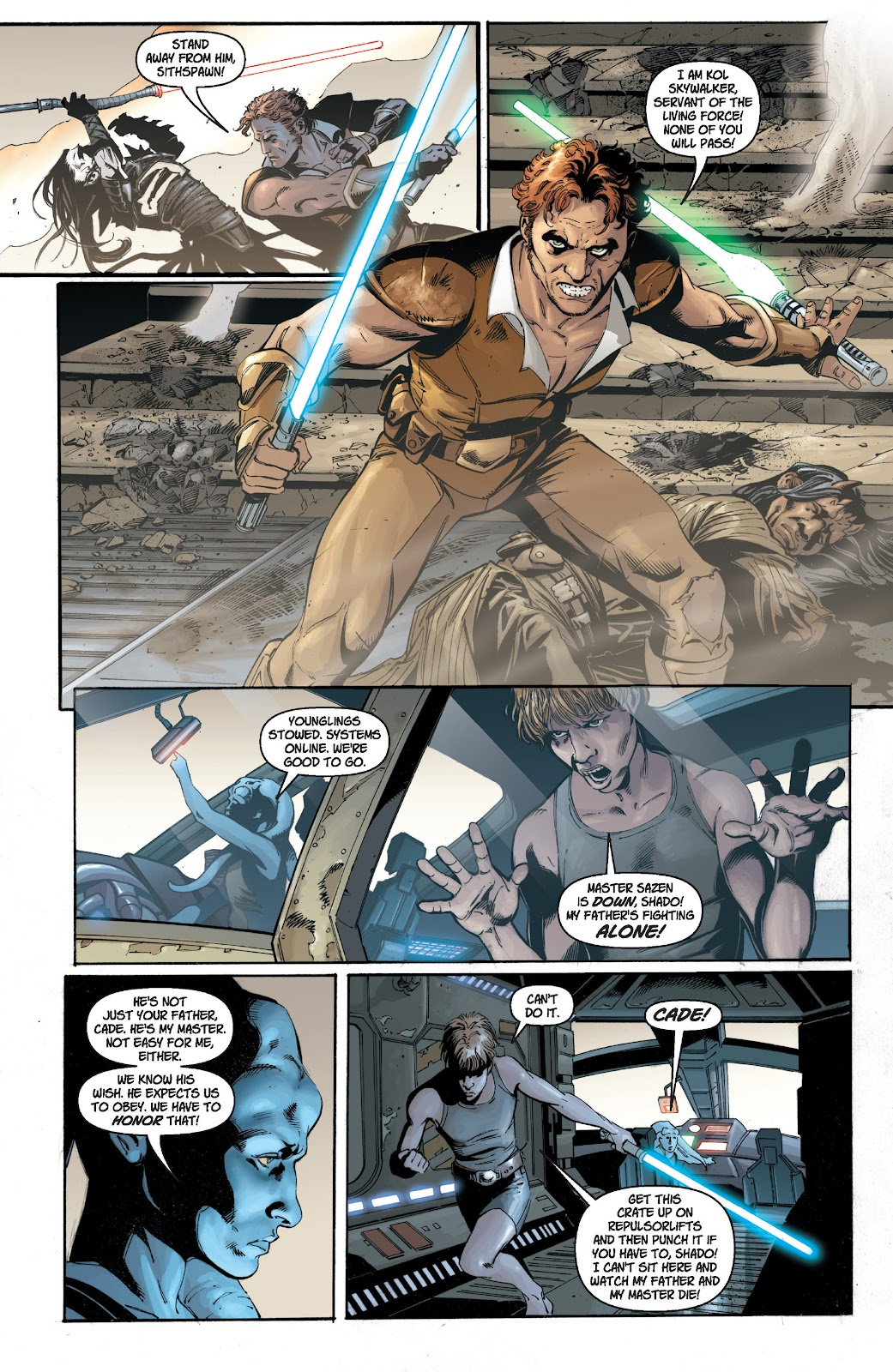 Read online Star Wars Legends: Legacy - Epic Collection comic -  Issue # TPB 1 (Part 1) - 11