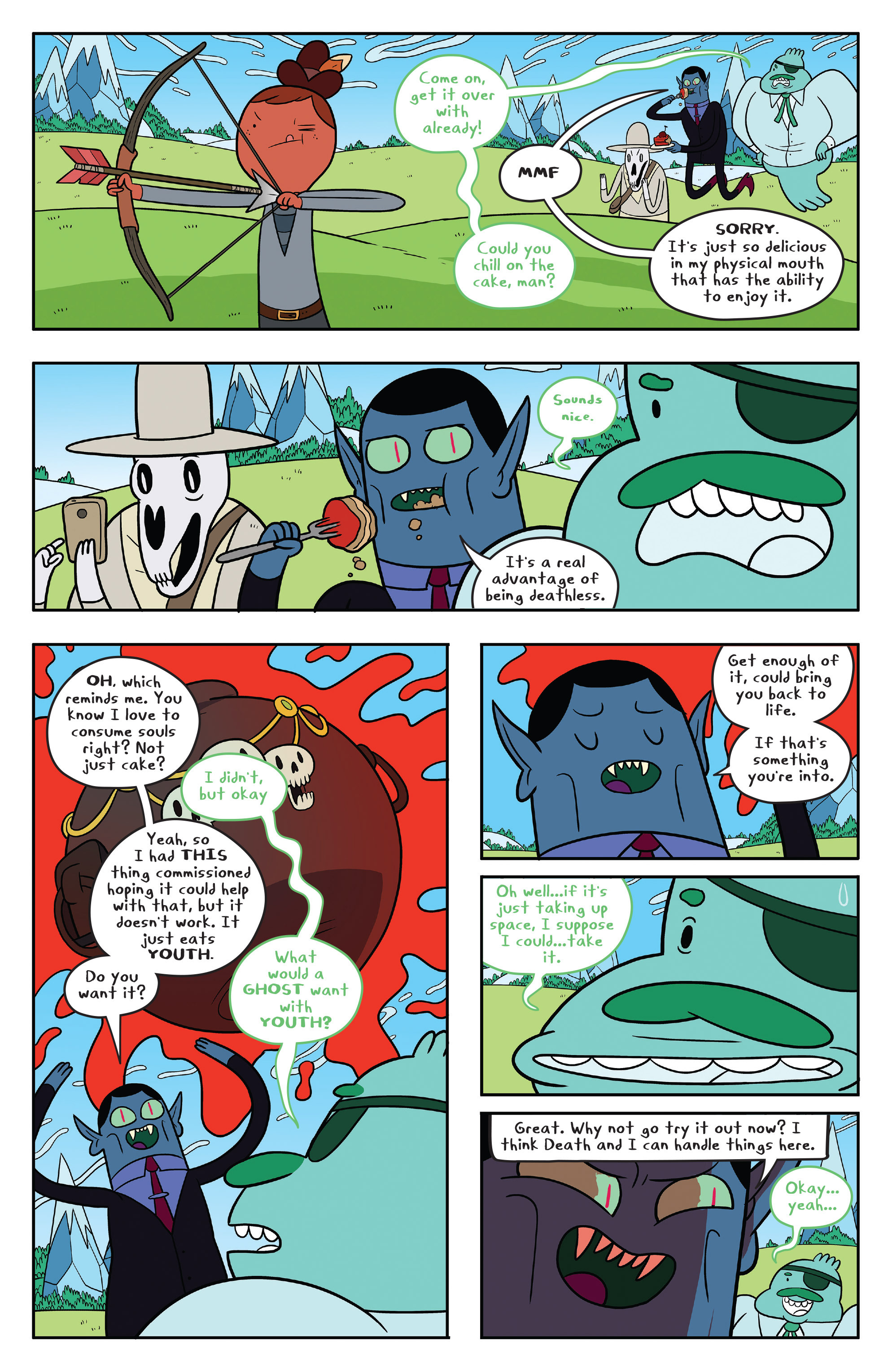 Read online Adventure Time comic -  Issue #53 - 9