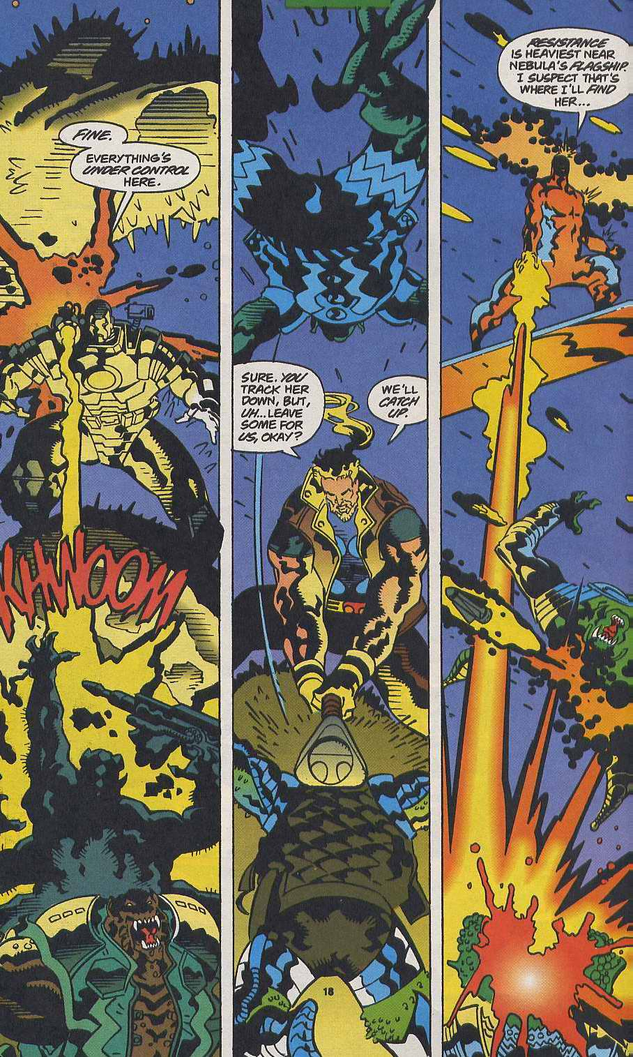 Read online Secret Defenders comic -  Issue #9 - 15
