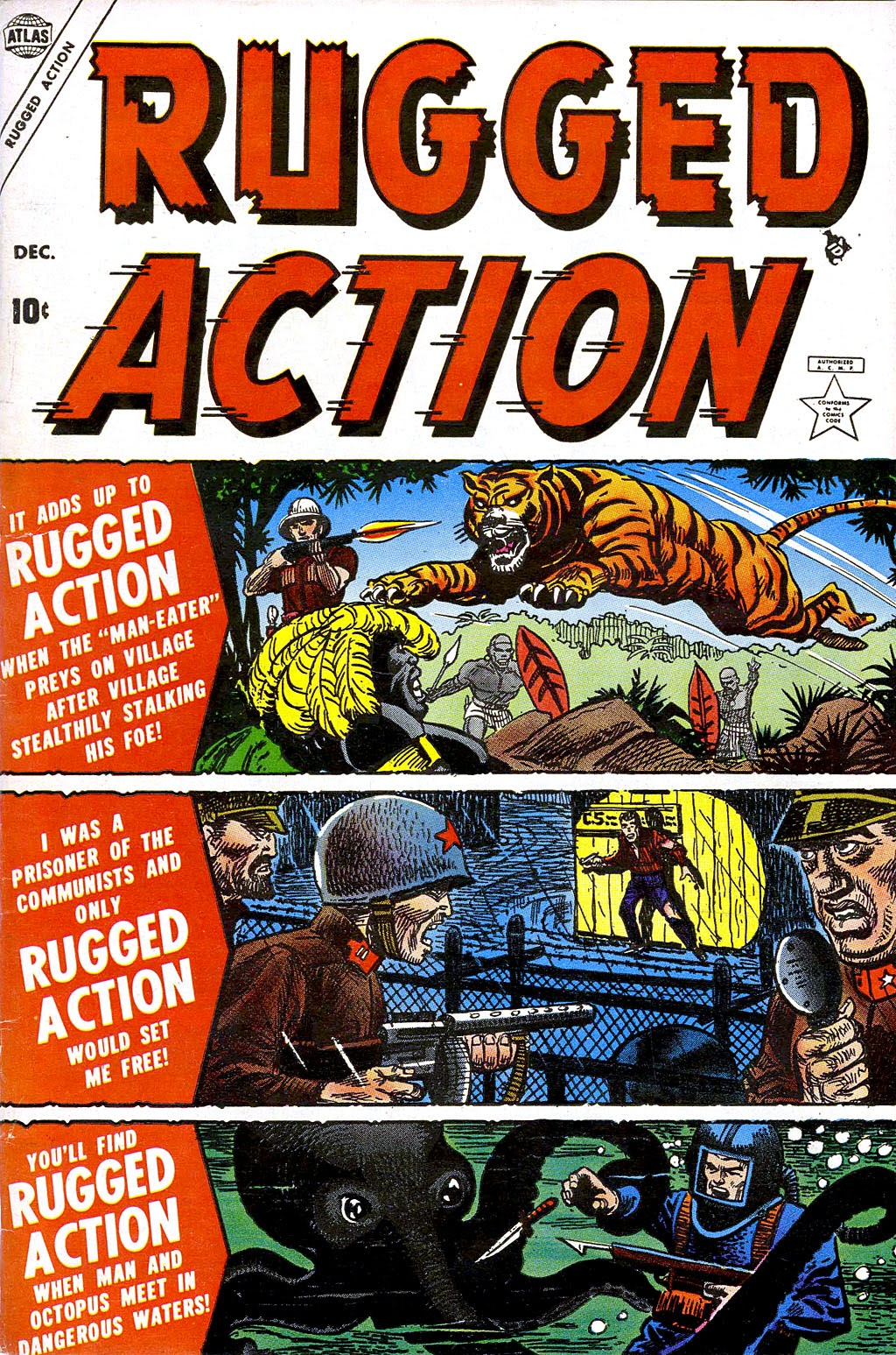 Rugged Action issue 1 - Page 1