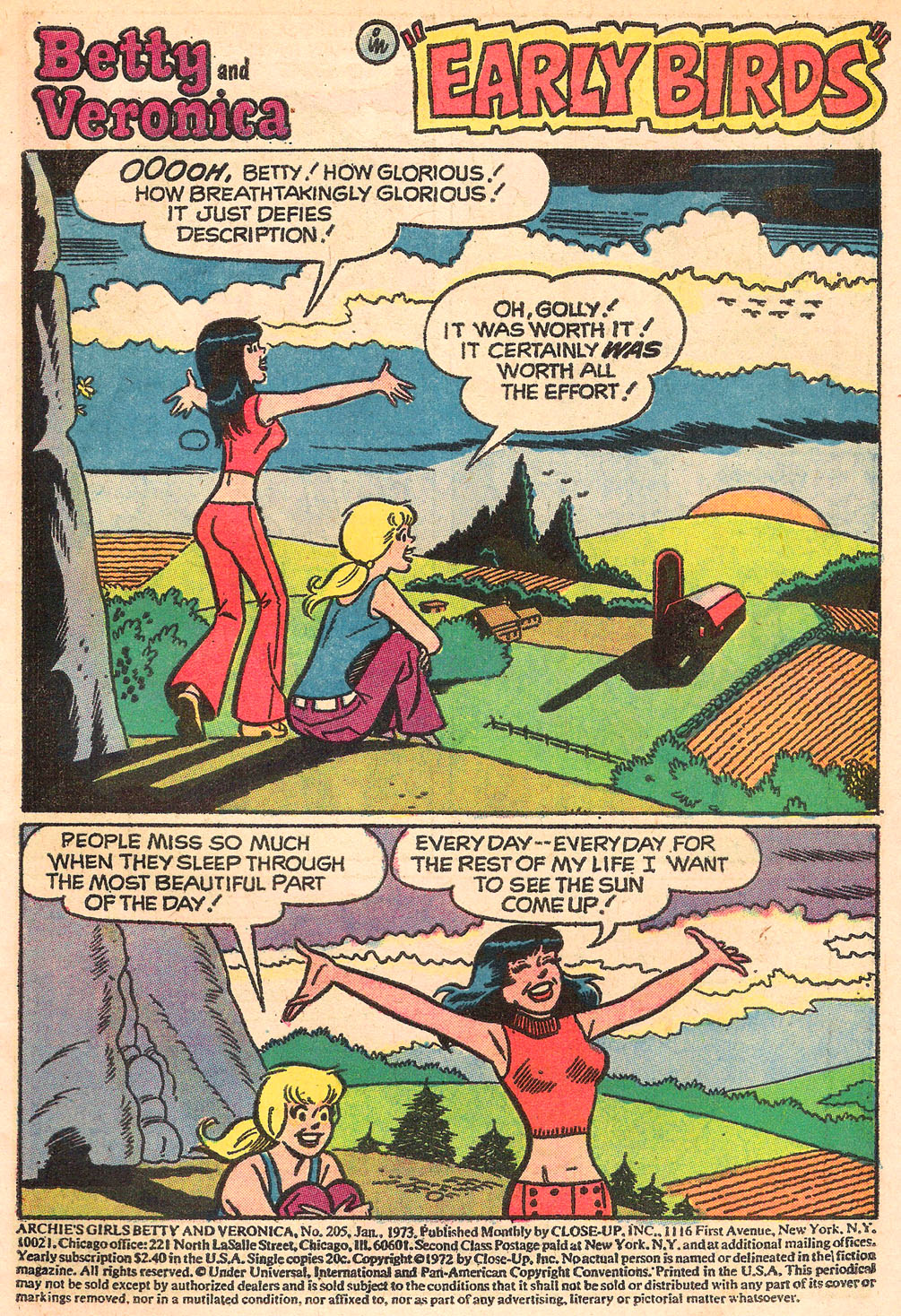 Read online Archie's Girls Betty and Veronica comic -  Issue #205 - 3