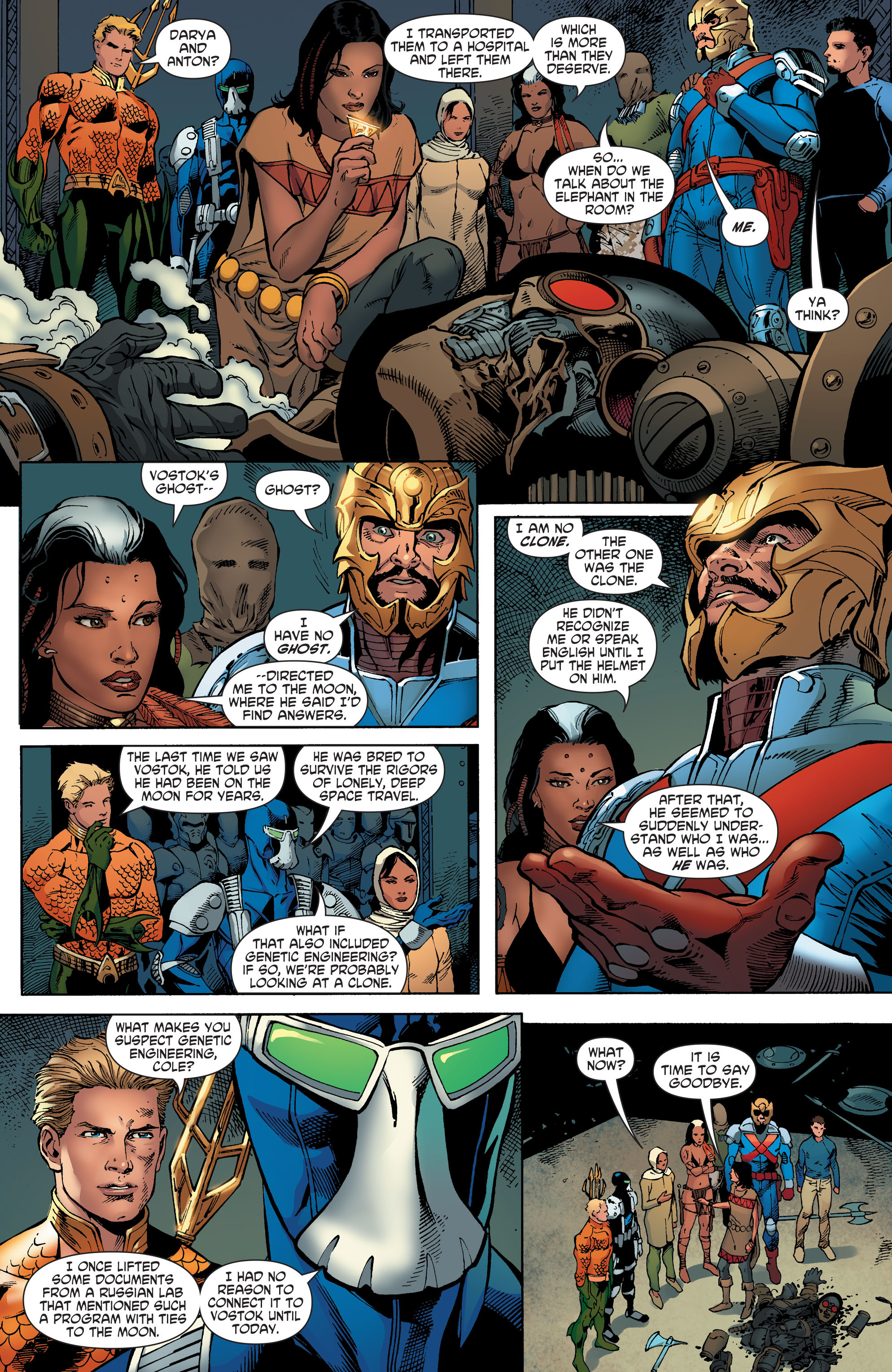 Read online Aquaman and the Others comic -  Issue #5 - 18