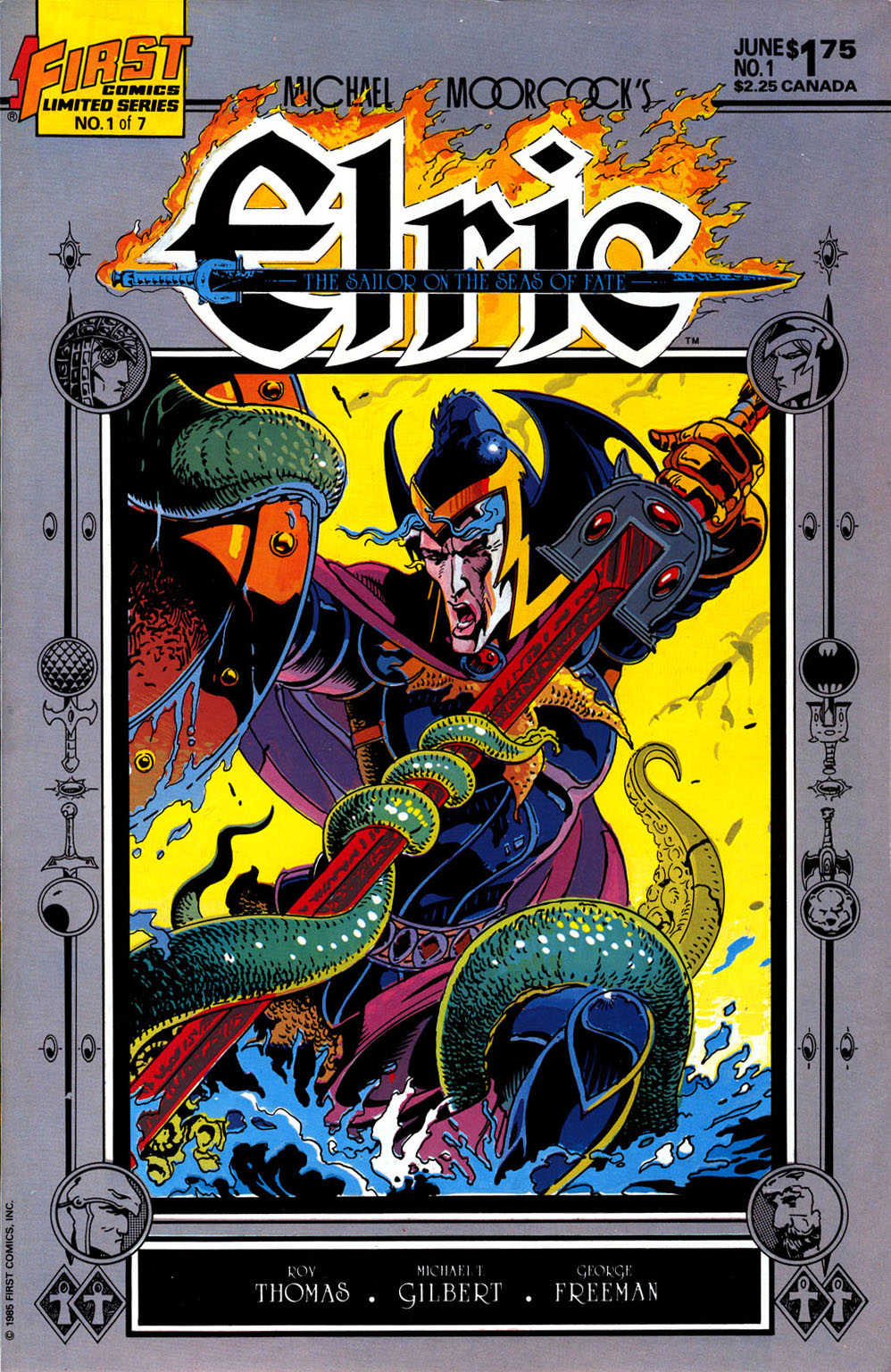 Read online Elric: Sailor on the Seas of Fate comic -  Issue #1 - 1