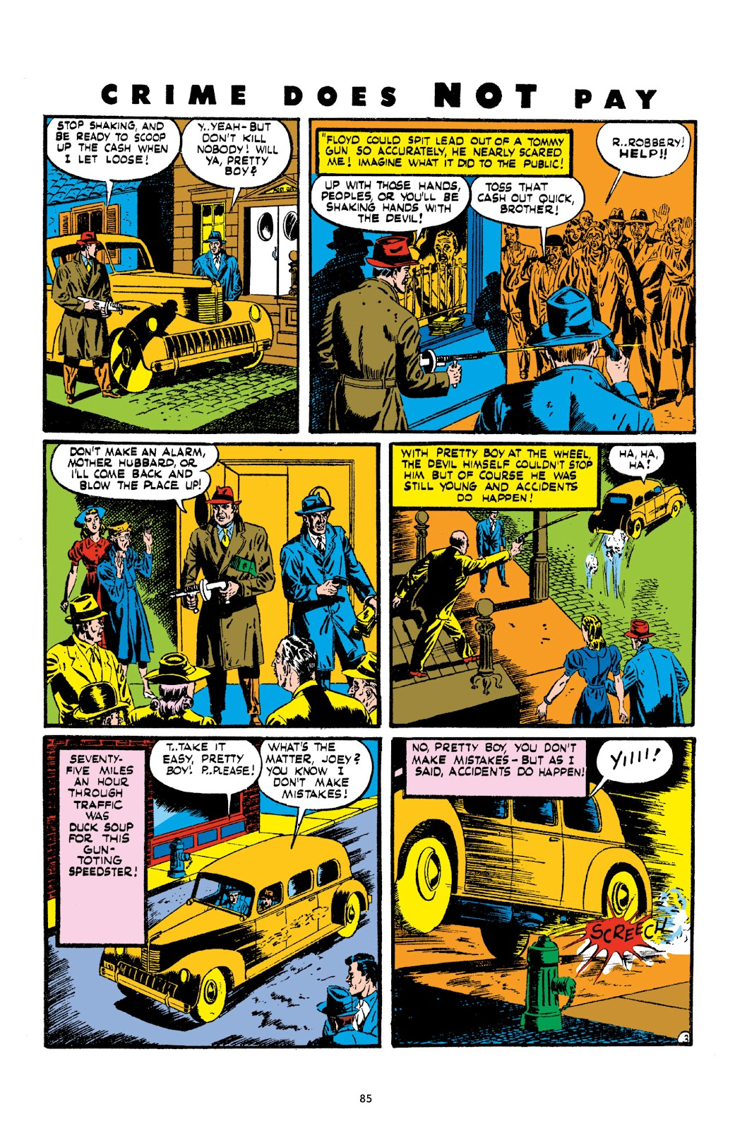 Read online Crime Does Not Pay Archives comic -  Issue # TPB 2 (Part 1) - 85