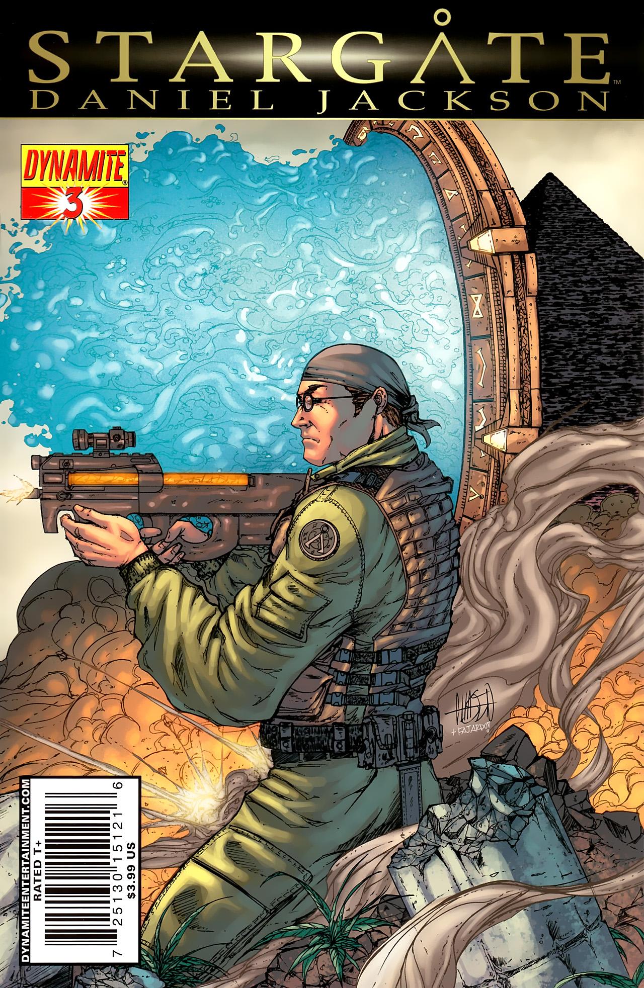 Read online Stargate: Daniel Jackson comic -  Issue #3 - 1