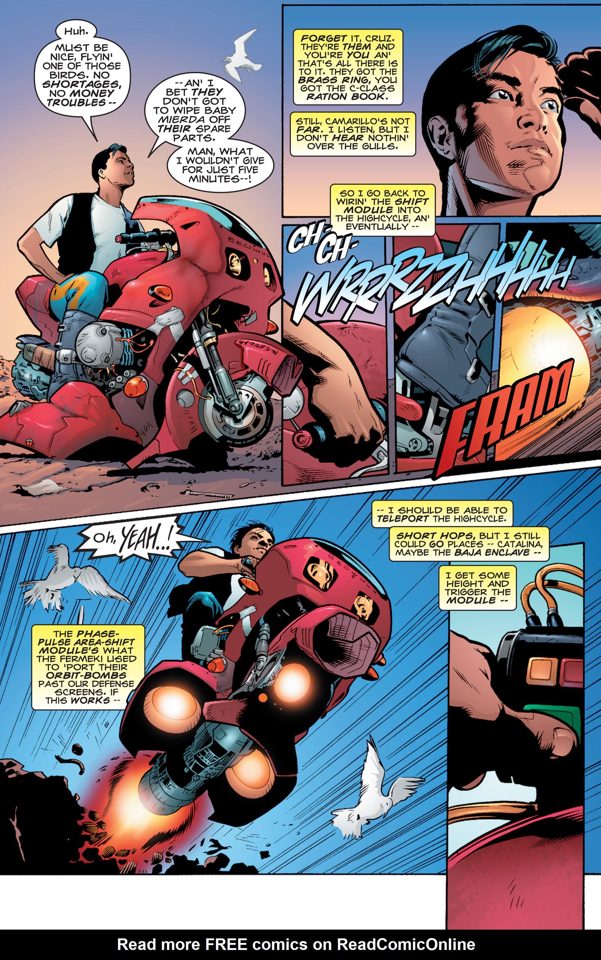 Read online Shockrockets comic -  Issue # TPB - 9