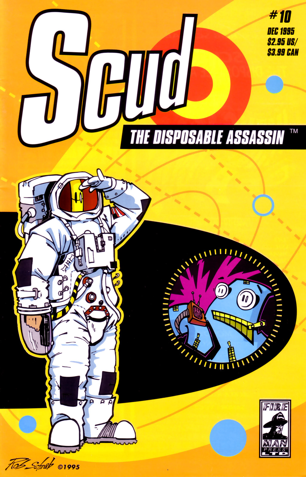 Read online Scud: The Disposable Assassin (1994) comic -  Issue #10 - 1