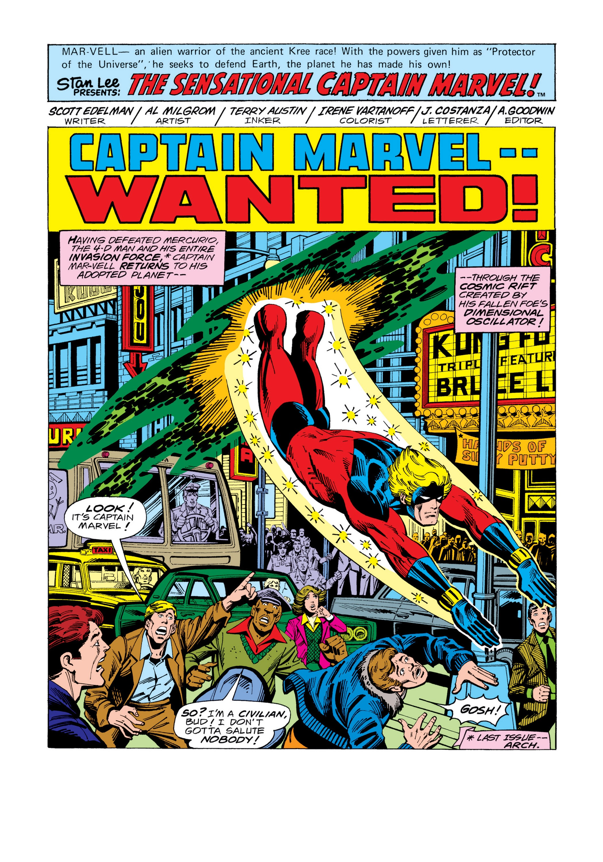 Marvel Masterworks: Captain Marvel TPB_5_(Part_1) Page 100