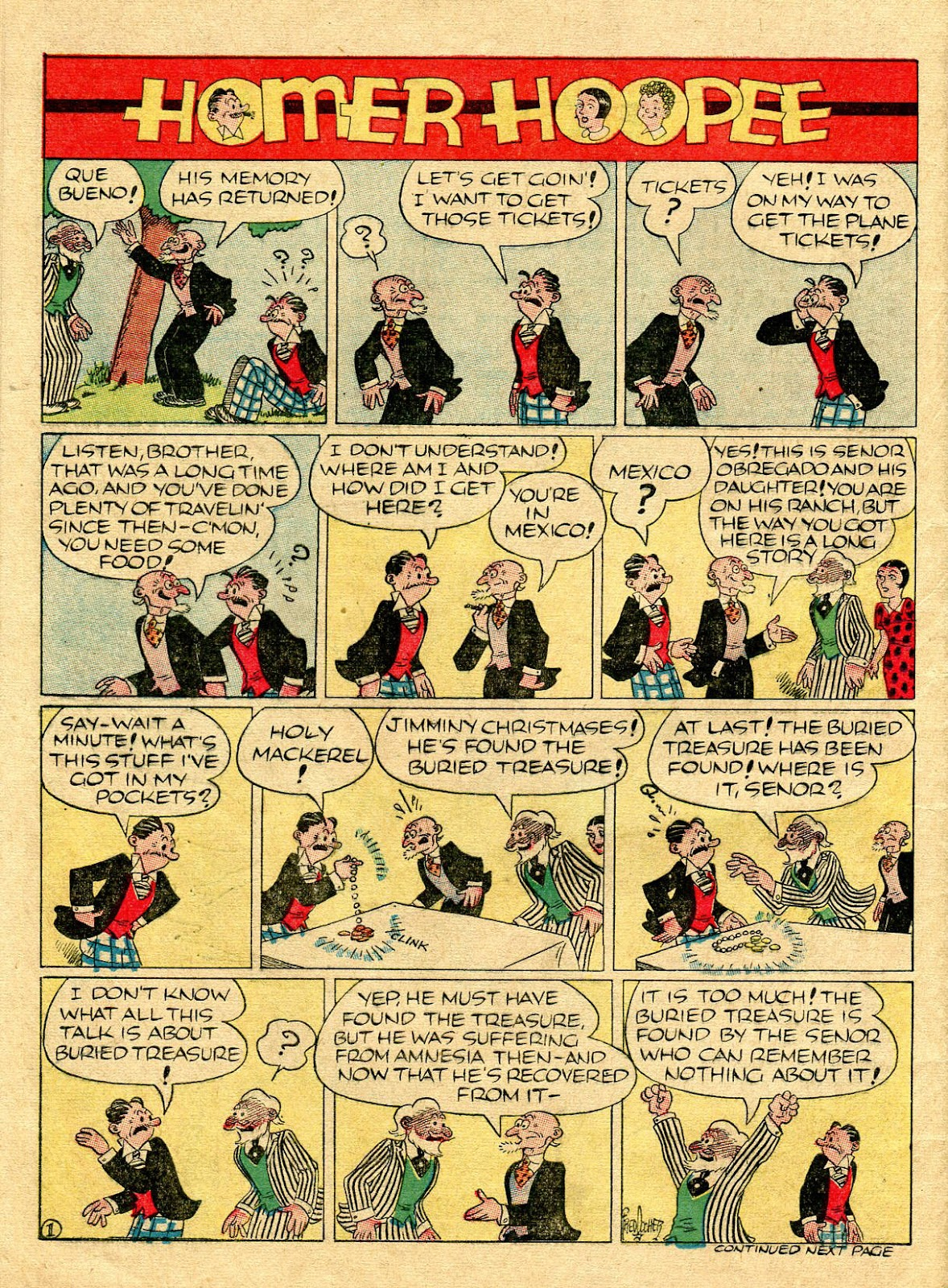 Read online Famous Funnies comic -  Issue #56 - 62