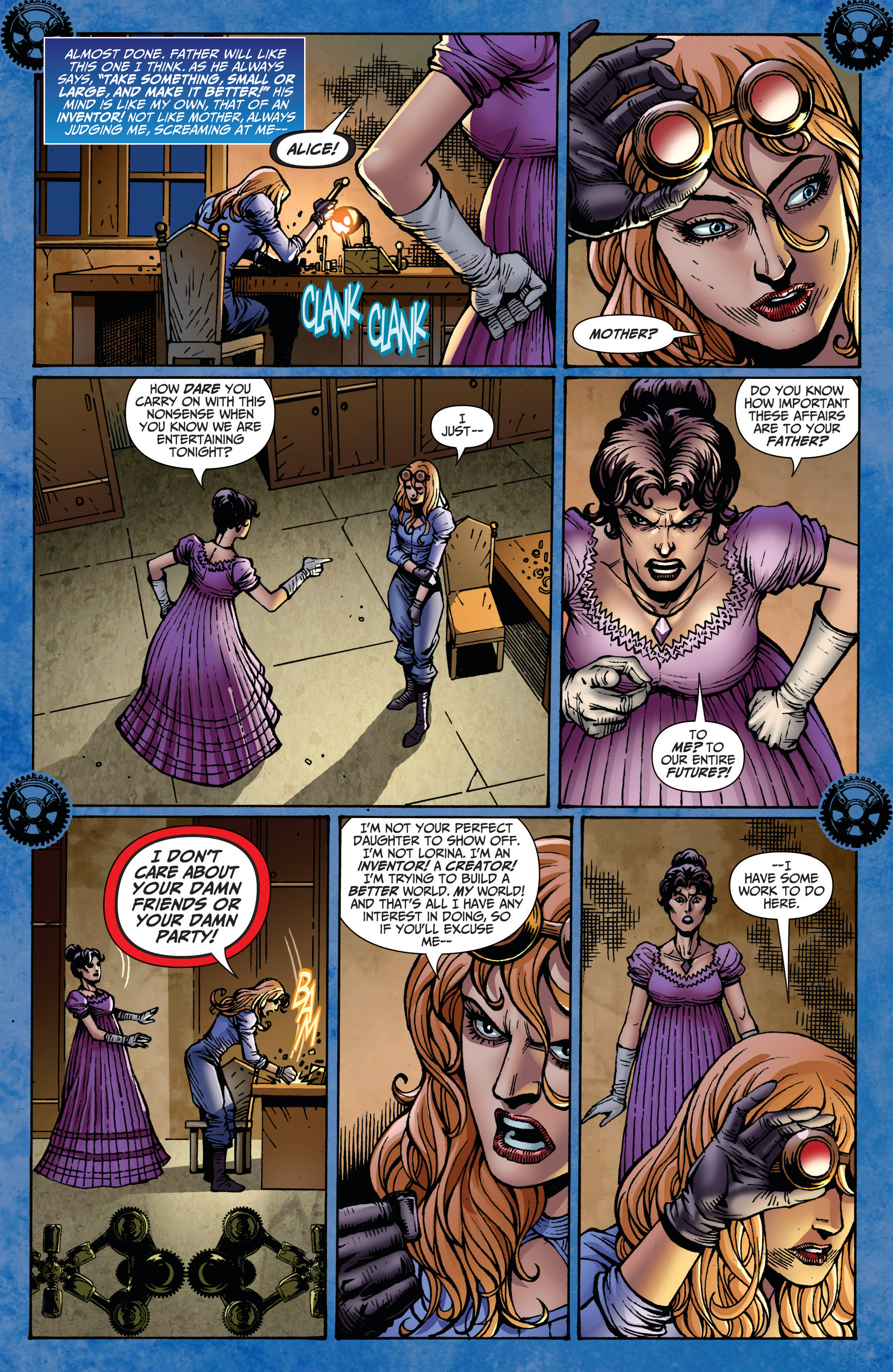 Read online Steampunk: Alice in Wonderland comic -  Issue # Full - 6