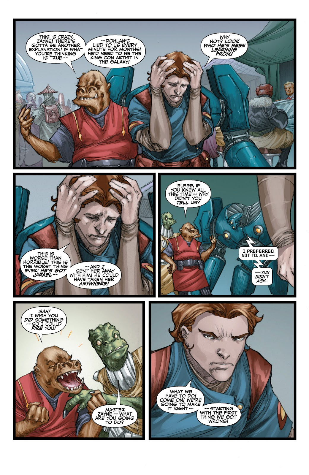 Read online Star Wars Legends: The Old Republic - Epic Collection comic -  Issue # TPB 3 (Part 3) - 25